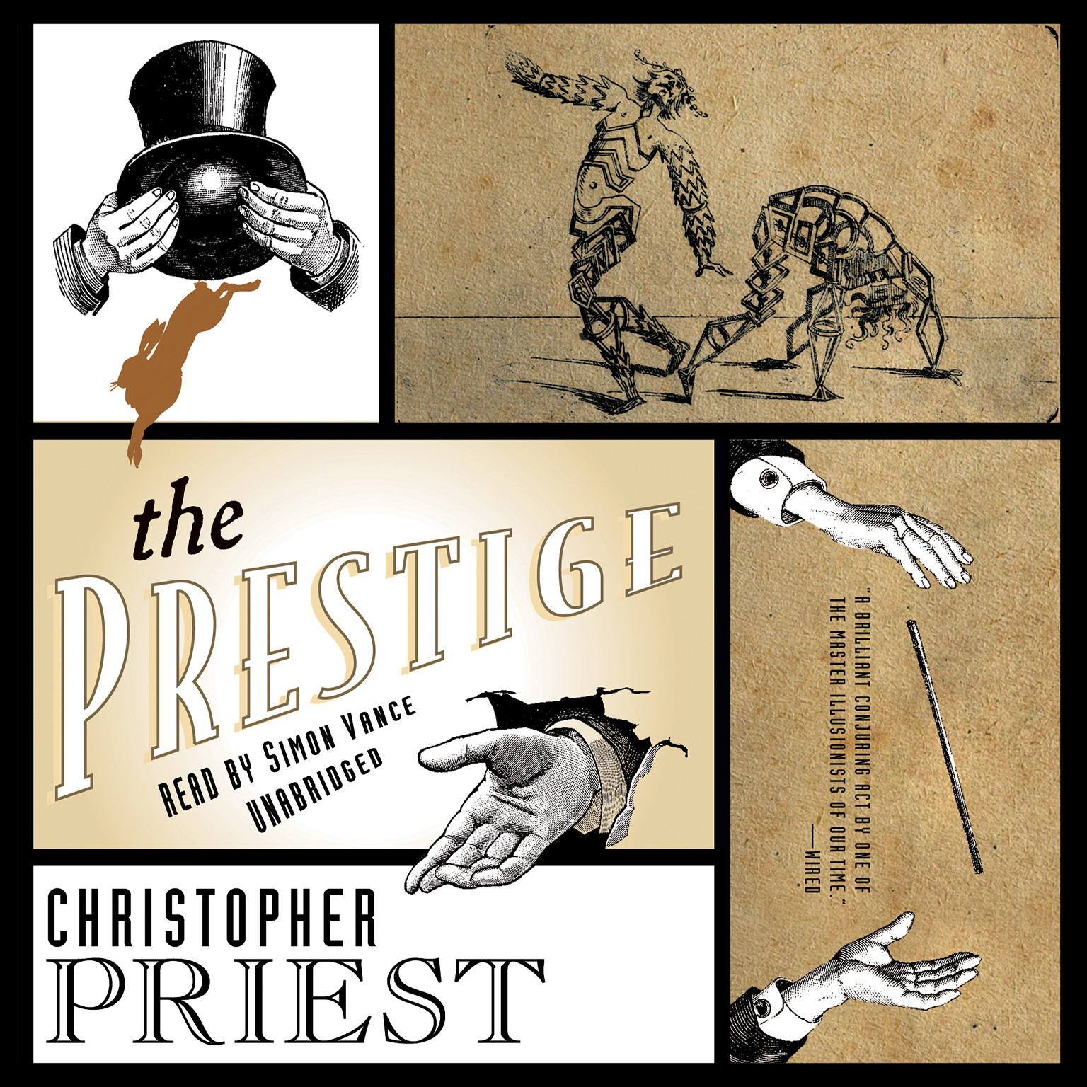Printable The Prestige Audiobook Cover Art