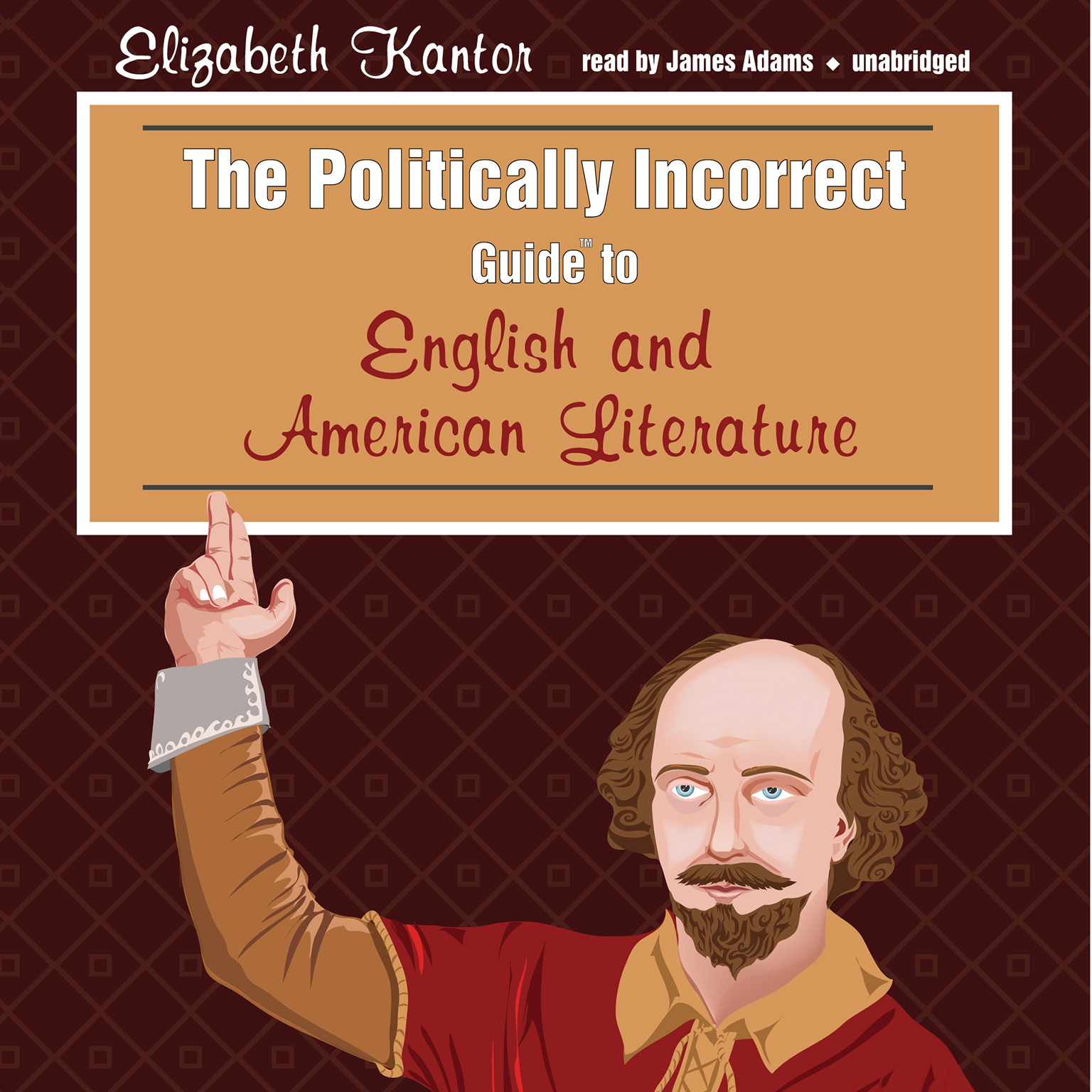 Printable The Politically Incorrect Guide to English and American Literature Audiobook Cover Art