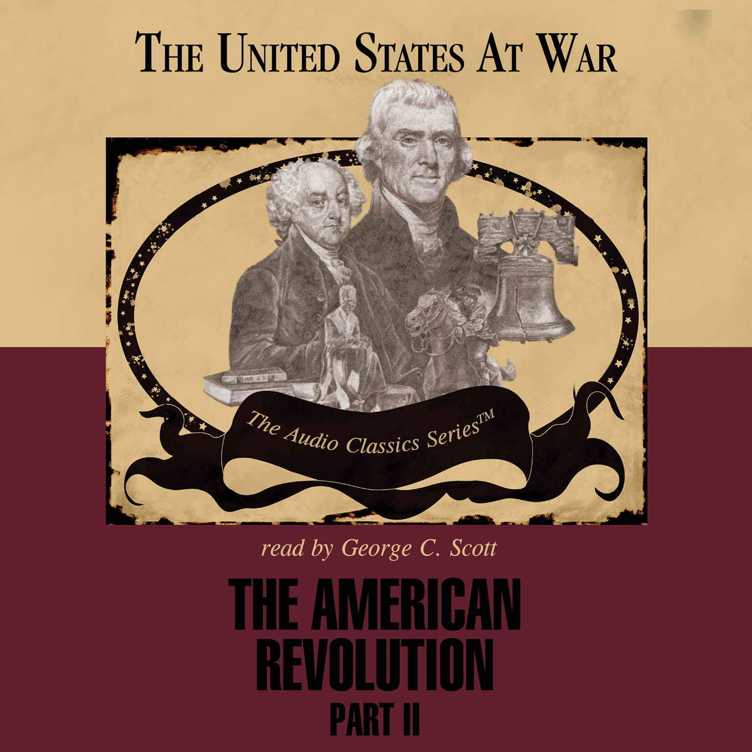 Printable The American Revolution, Part 2 Audiobook Cover Art