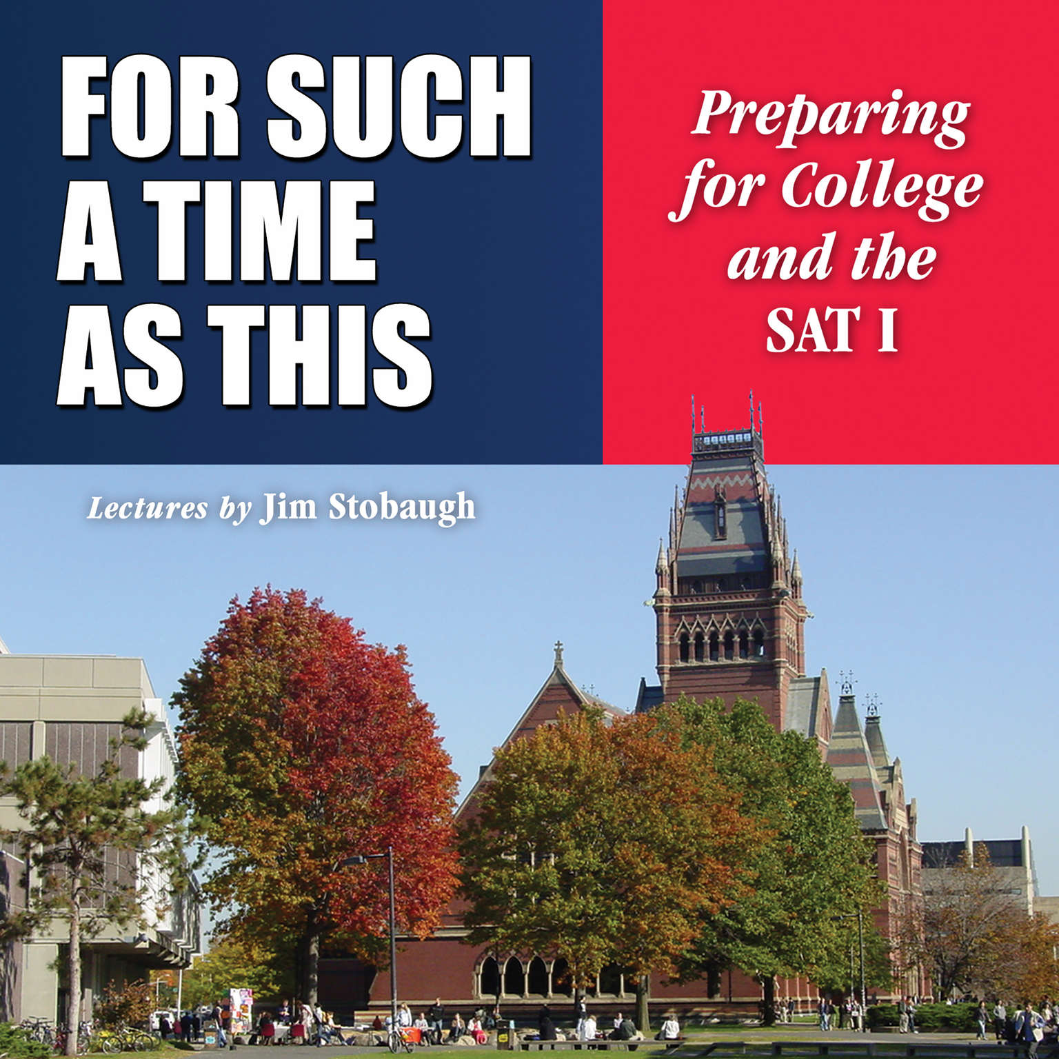 Printable For Such a Time as This: Preparing for College and the SAT I Audiobook Cover Art