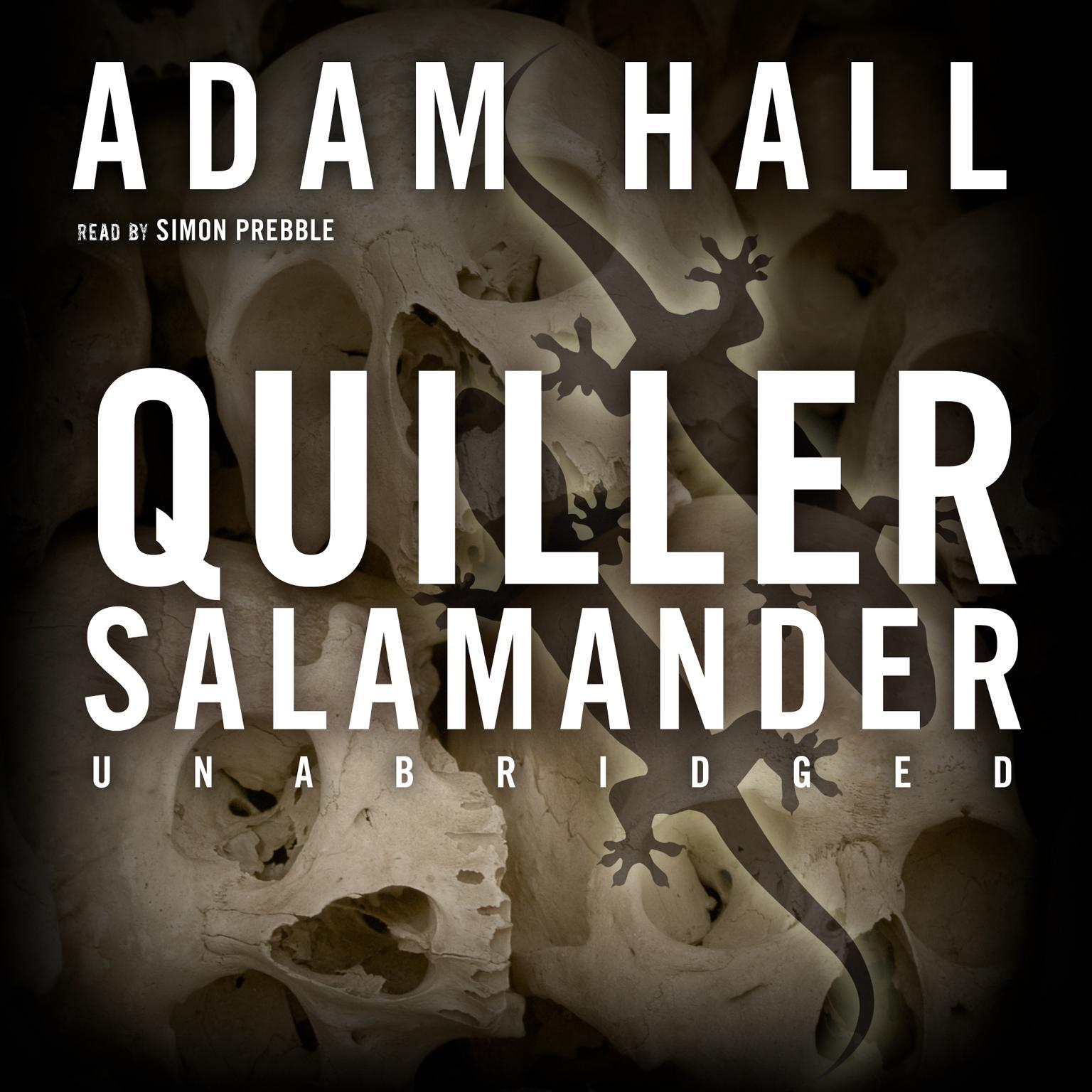 Printable Quiller Salamander Audiobook Cover Art