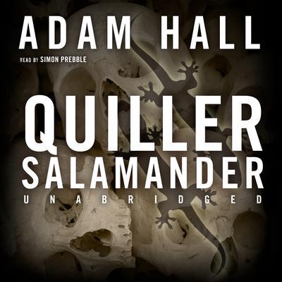 Quiller Salamander Audiobook, by Adam Hall
