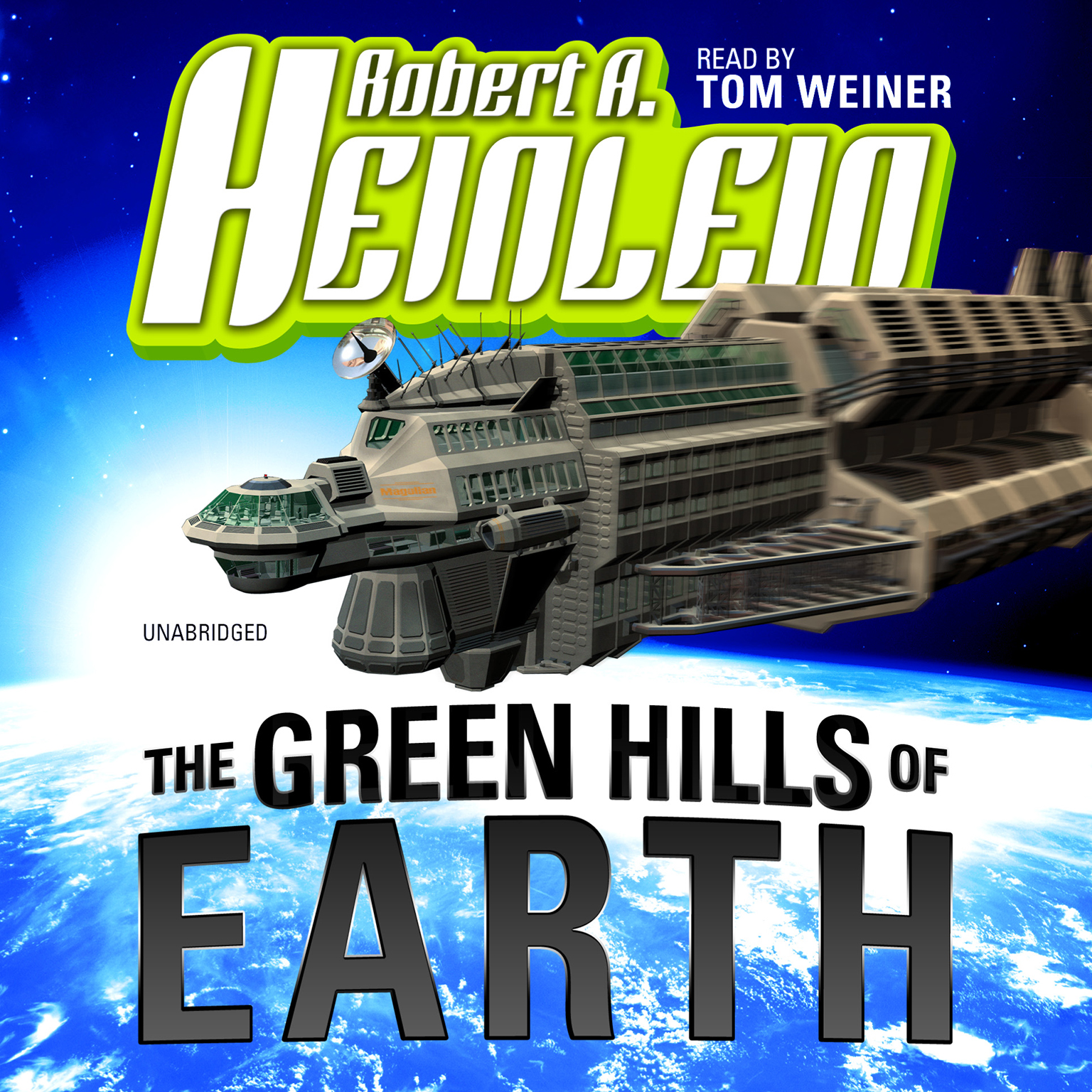 Printable The Green Hills of Earth Audiobook Cover Art