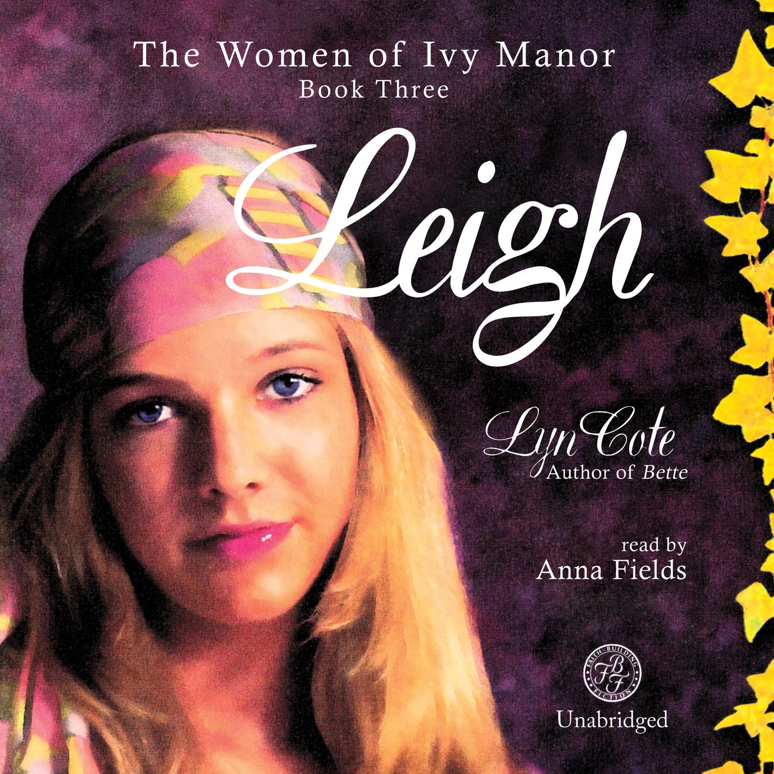 Printable Leigh Audiobook Cover Art