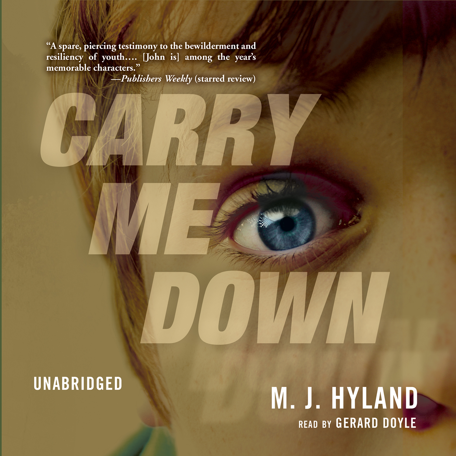 Printable Carry Me Down Audiobook Cover Art