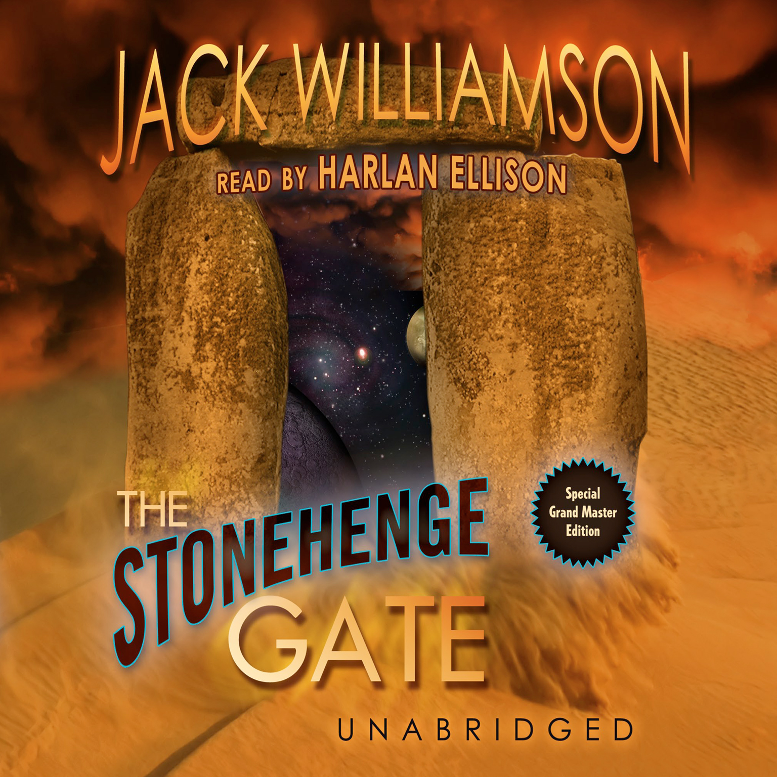 Printable The Stonehenge Gate Audiobook Cover Art