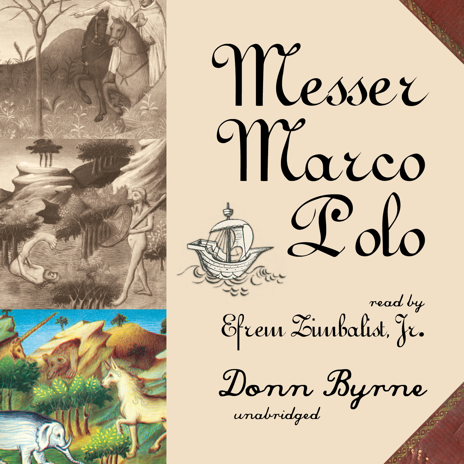 Printable Messer Marco Polo Audiobook Cover Art