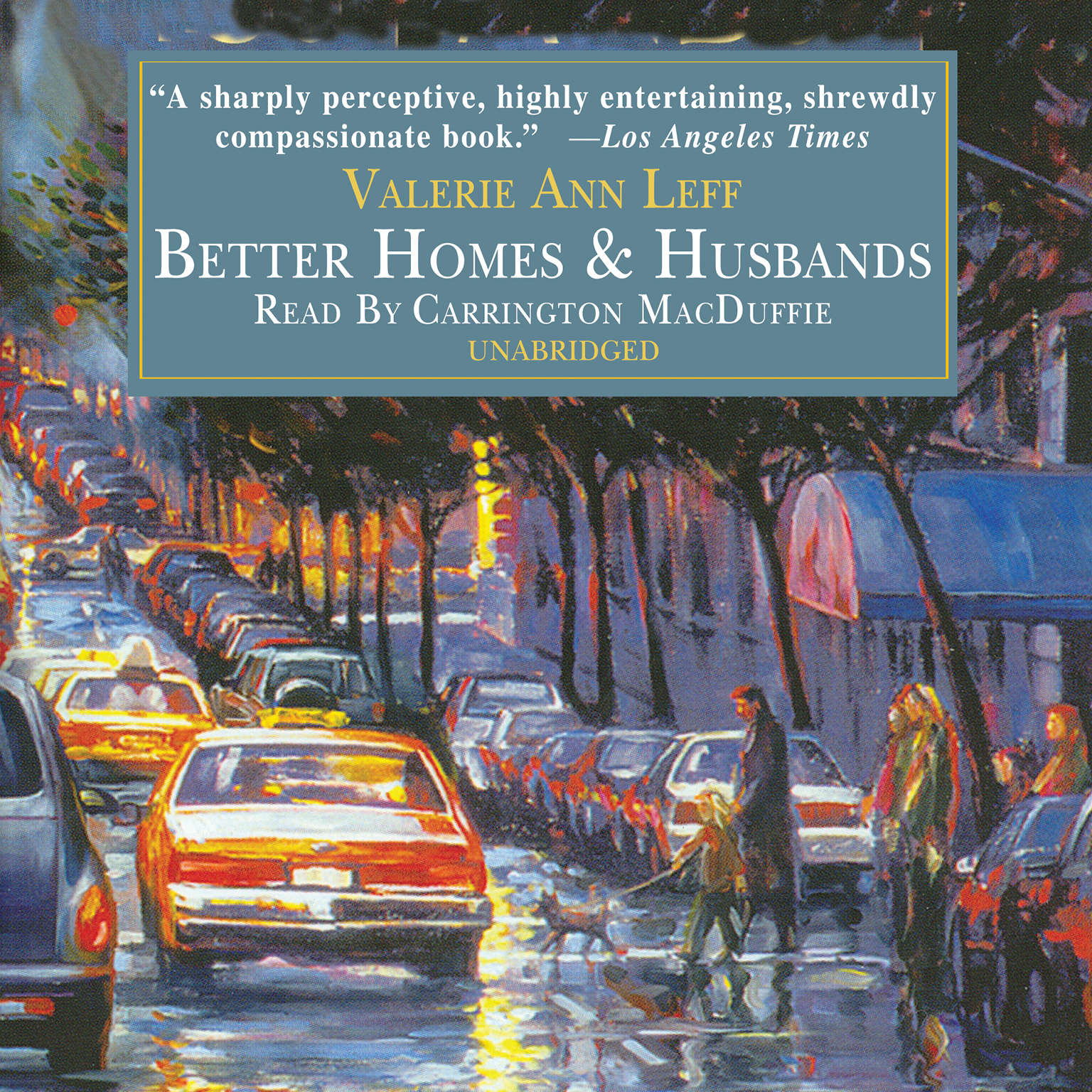 Printable Better Homes and Husbands Audiobook Cover Art