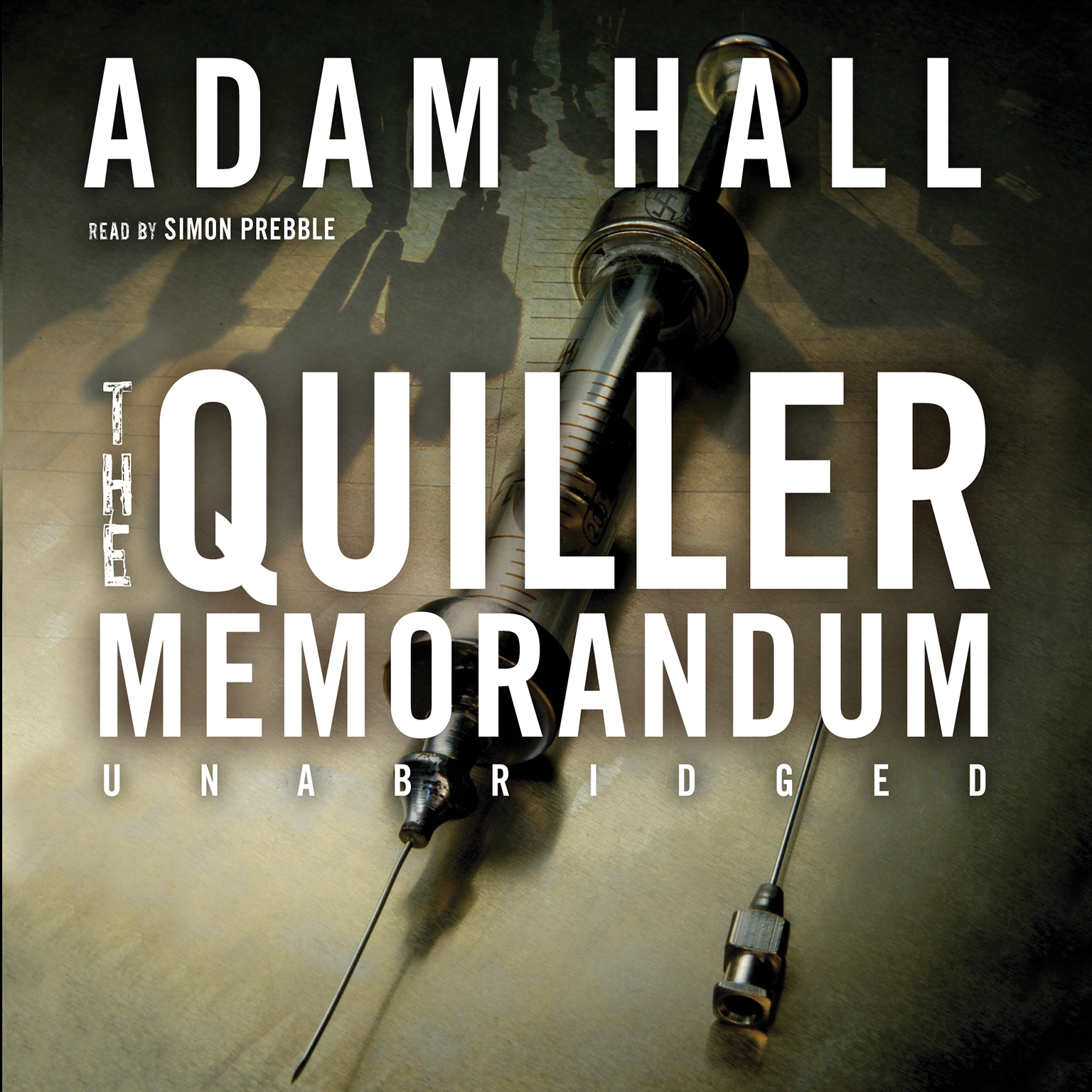 Printable The Quiller Memorandum Audiobook Cover Art