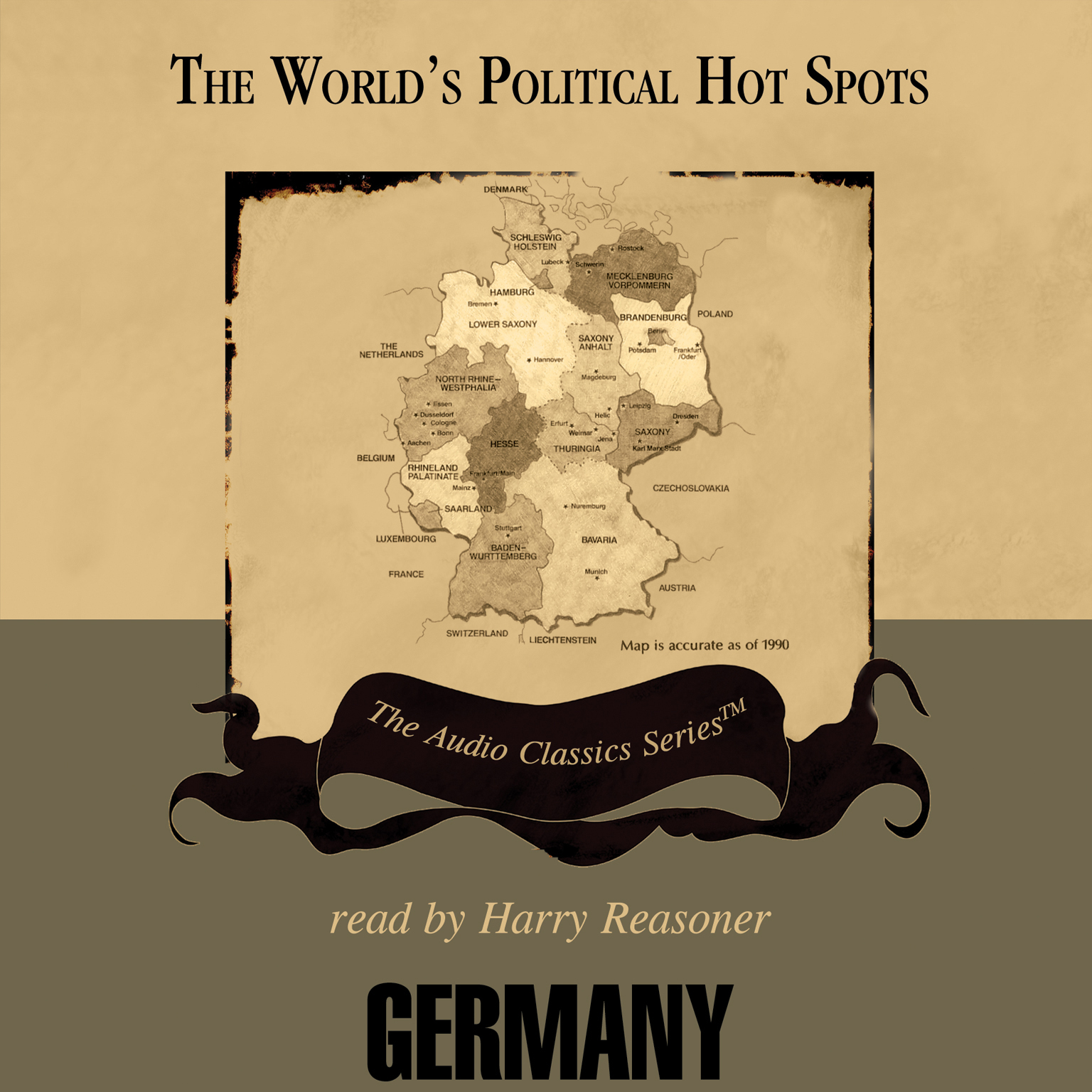 Printable Germany Audiobook Cover Art