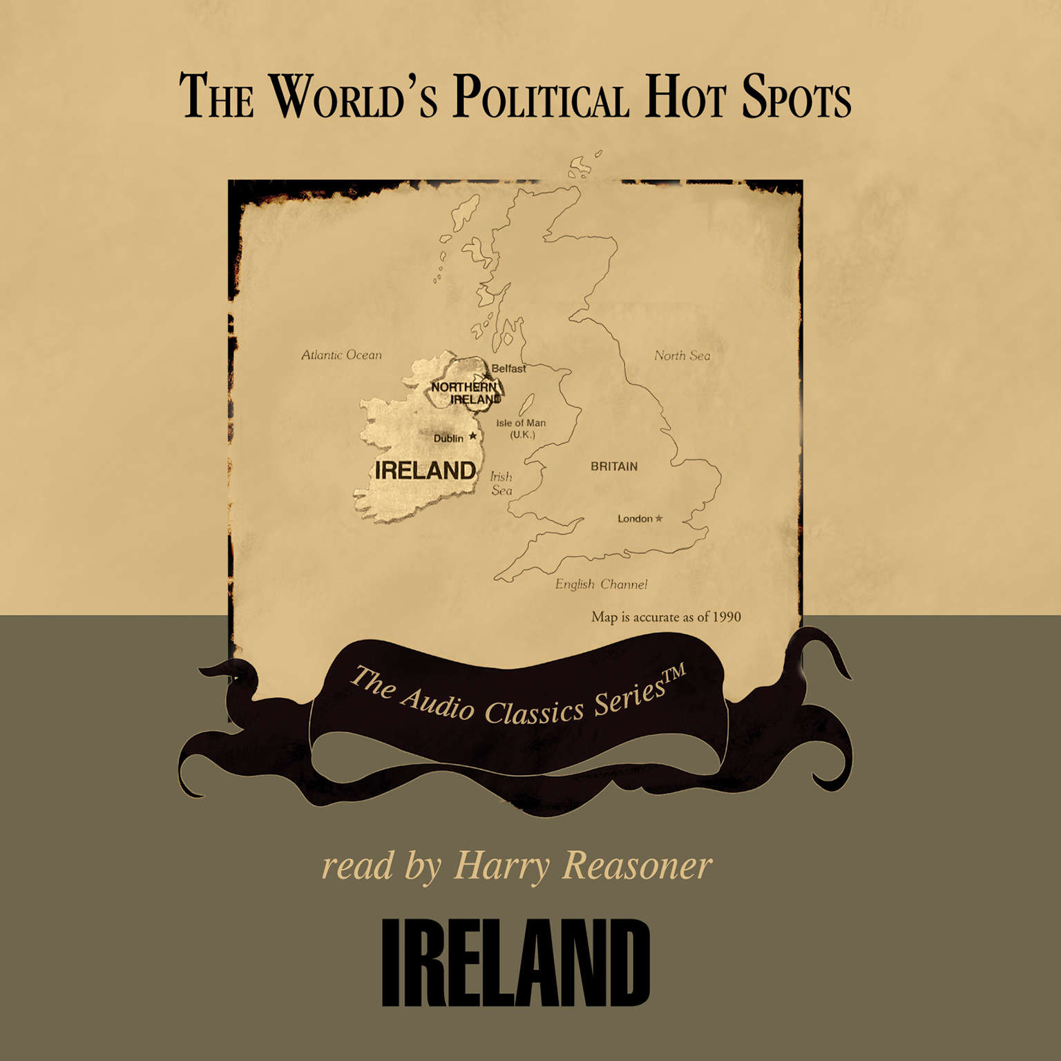Printable Ireland Audiobook Cover Art