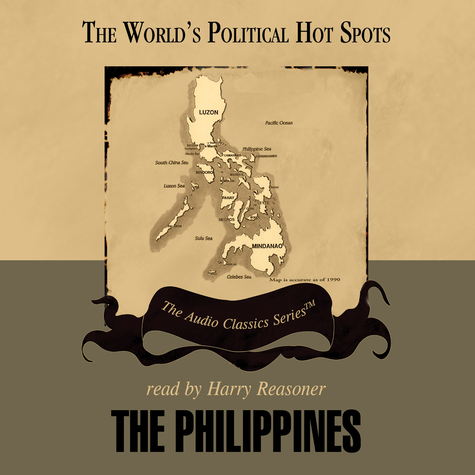 Printable The Philippines Audiobook Cover Art
