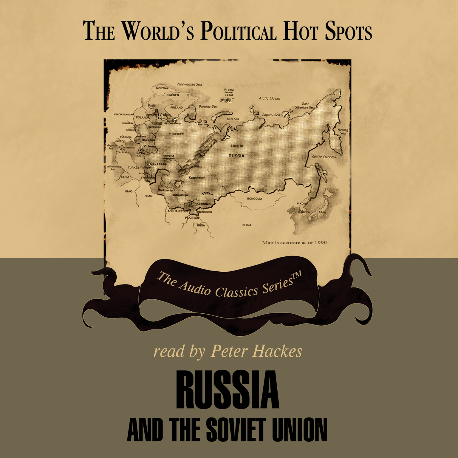Printable Russia and the Soviet Union Audiobook Cover Art