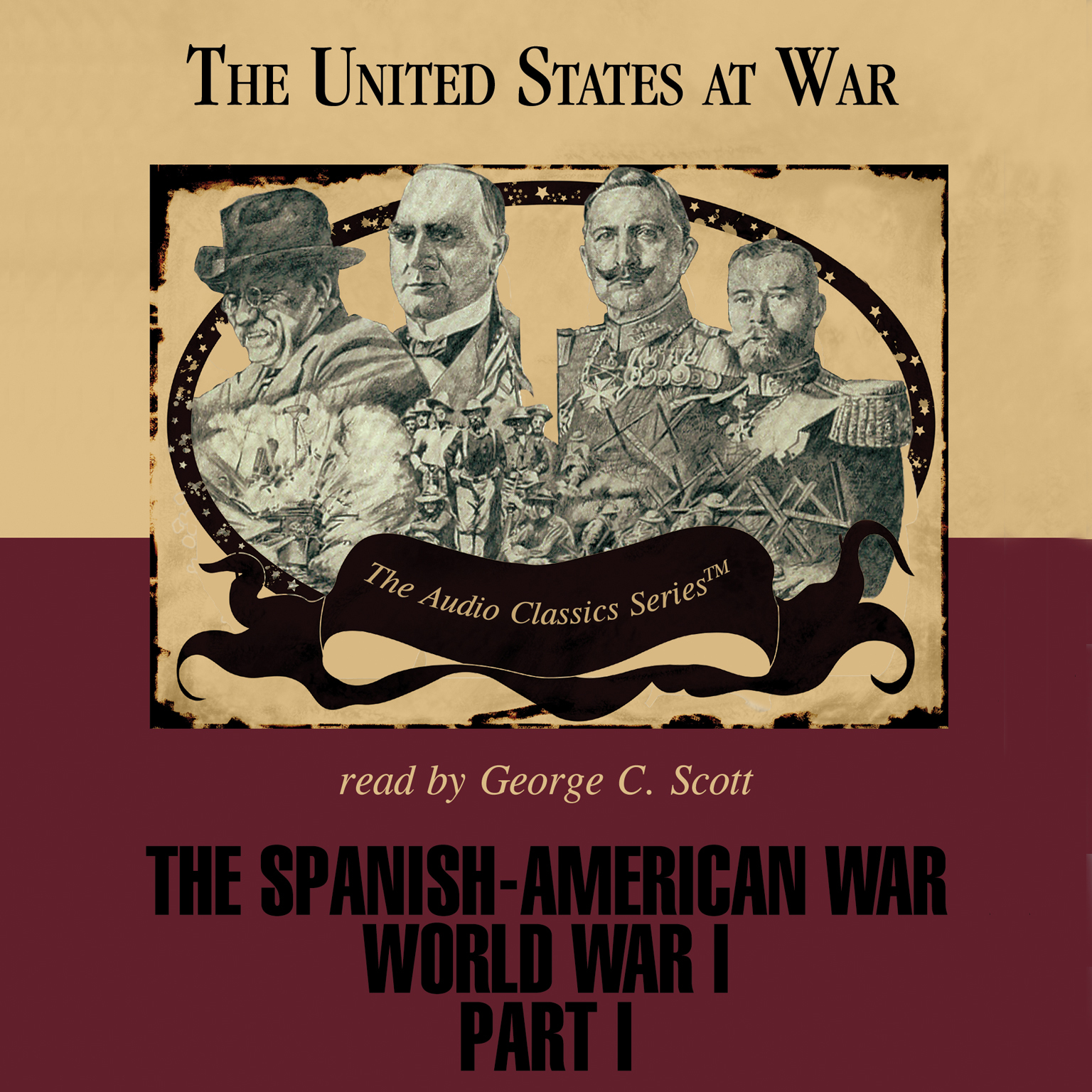 Printable The Spanish-American War and World War I, Part 1 Audiobook Cover Art