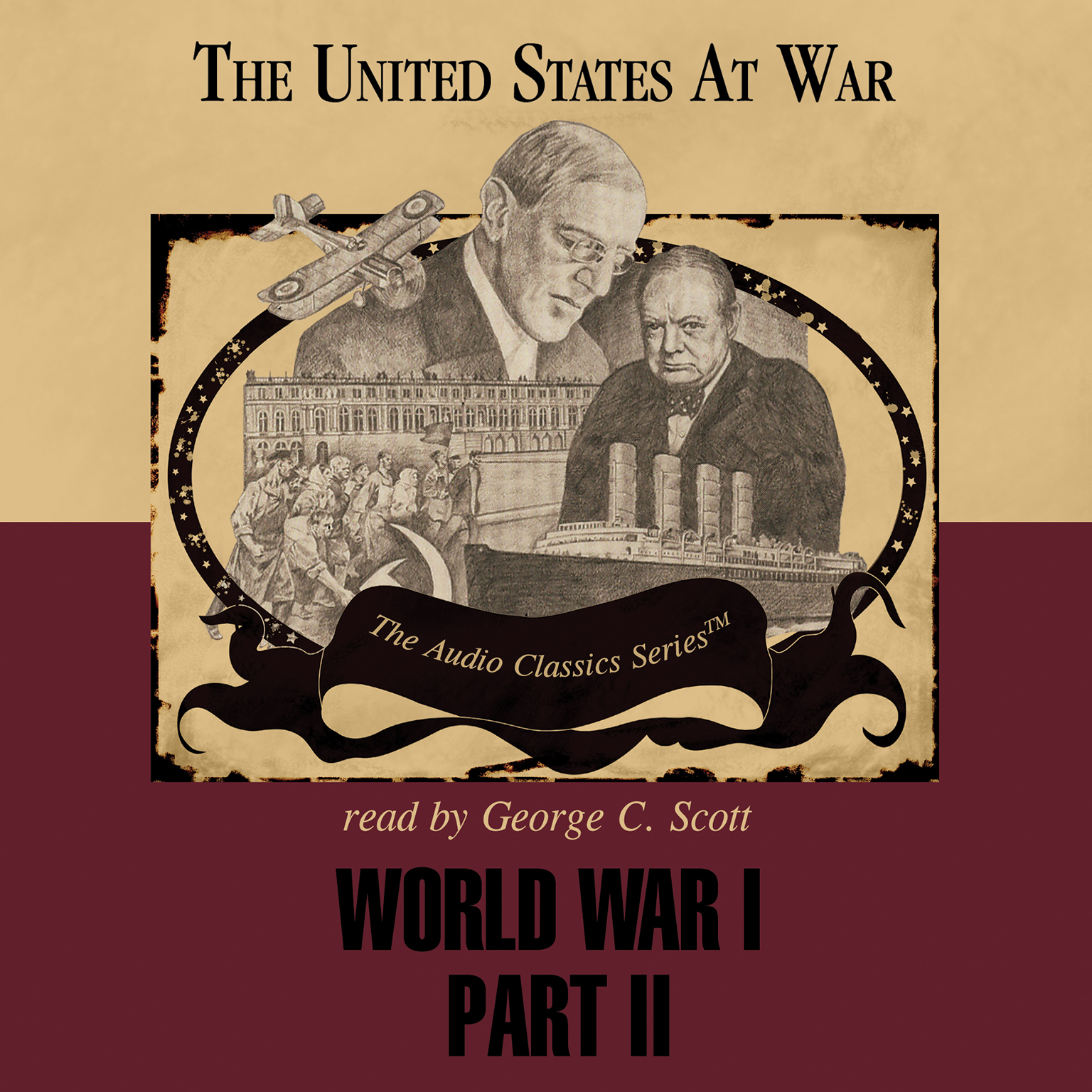Printable World War I, Part 2 Audiobook Cover Art