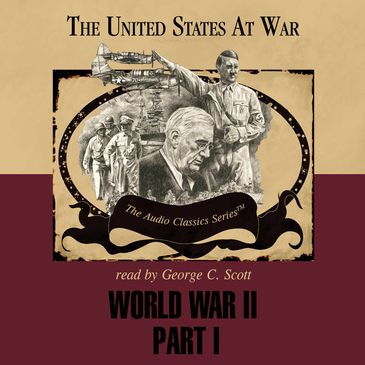 Printable World War II, Part 1 Audiobook Cover Art