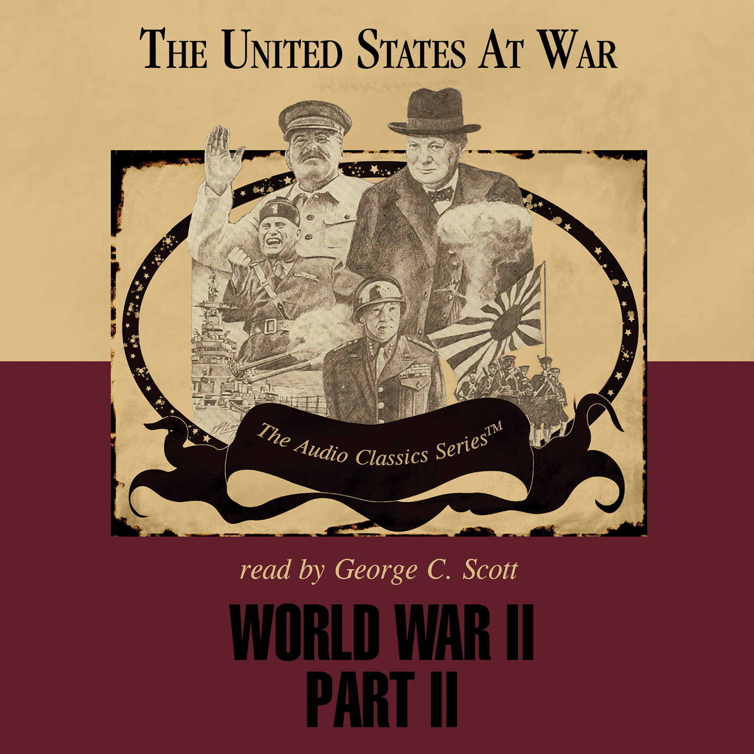 Printable World War II, Part 2 Audiobook Cover Art