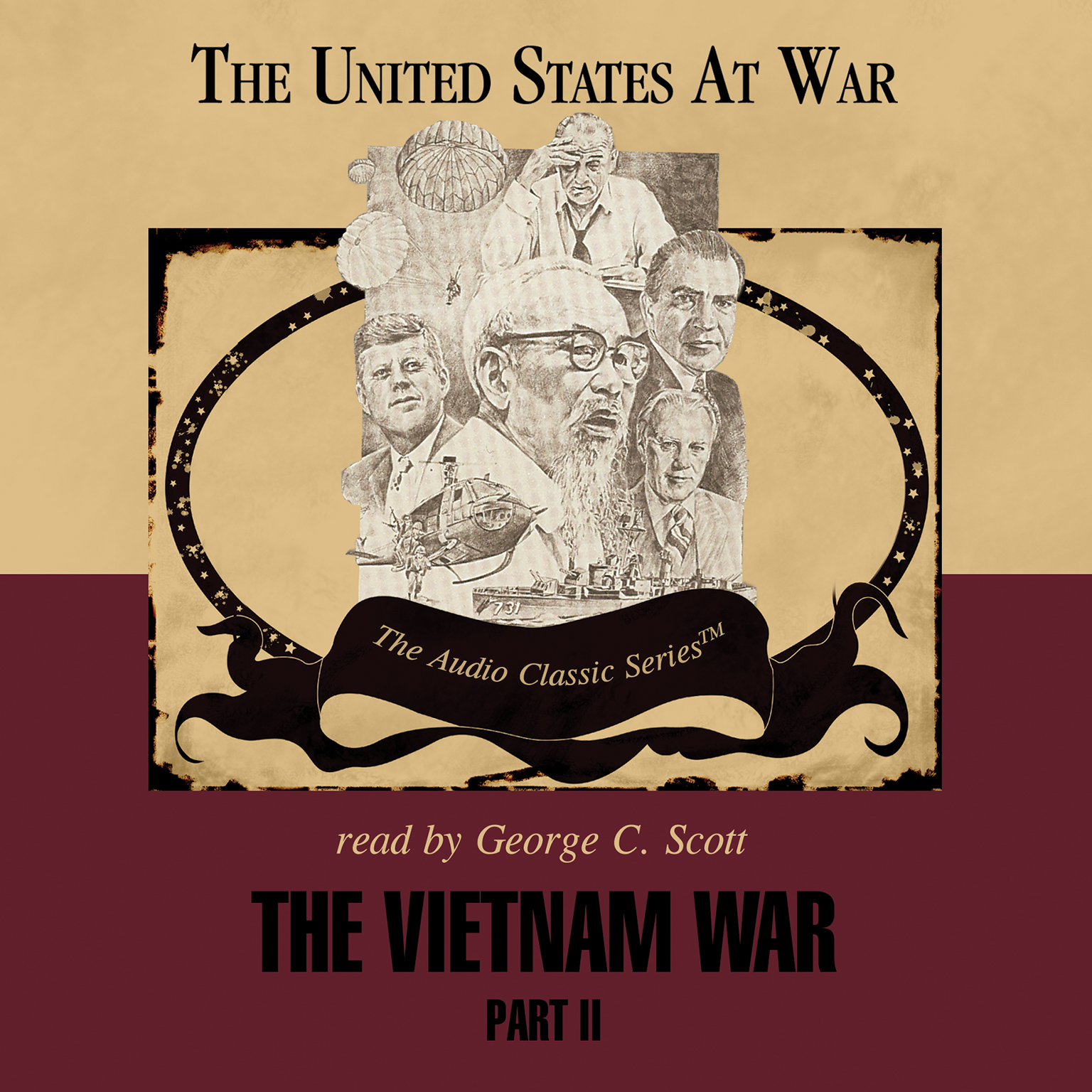 Printable The Vietnam War: Part 2 Audiobook Cover Art