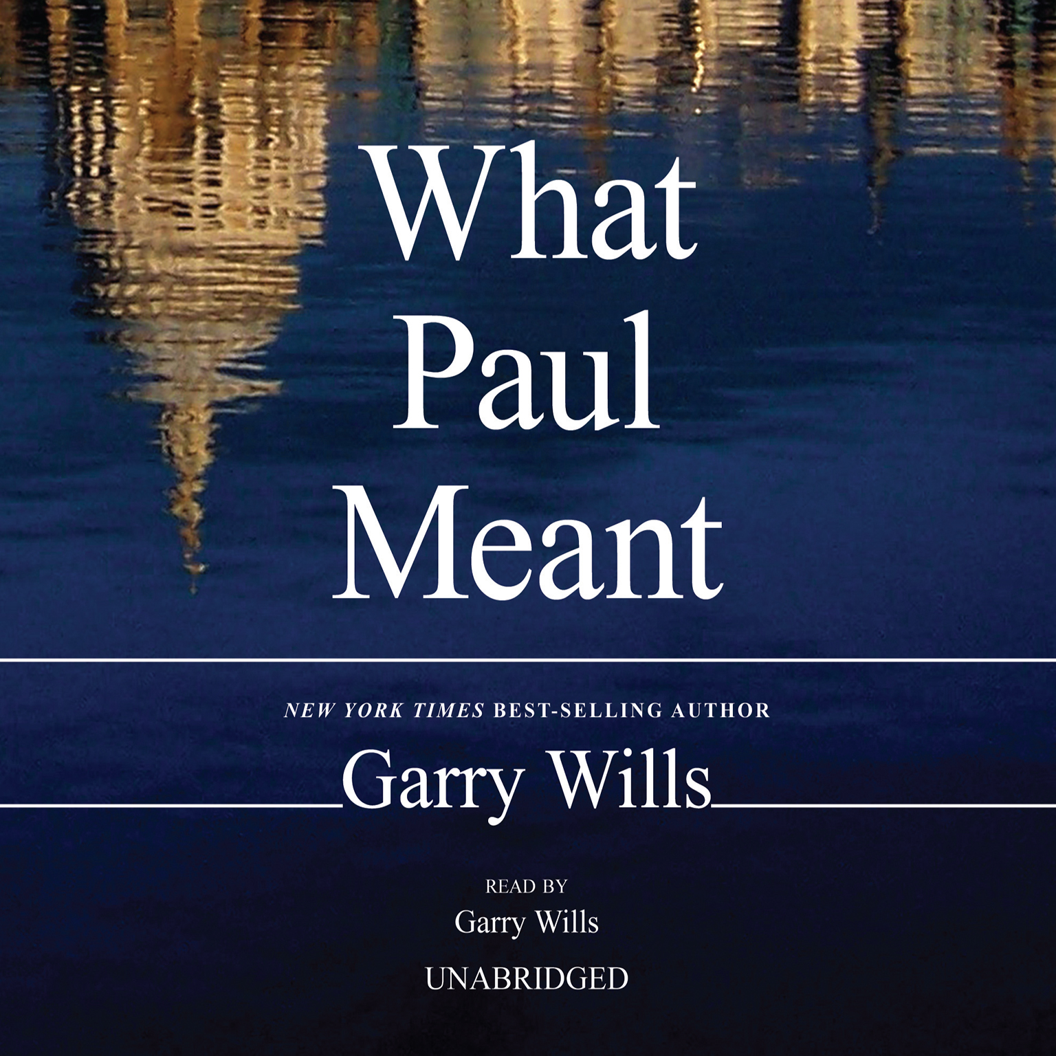 Printable What Paul Meant Audiobook Cover Art