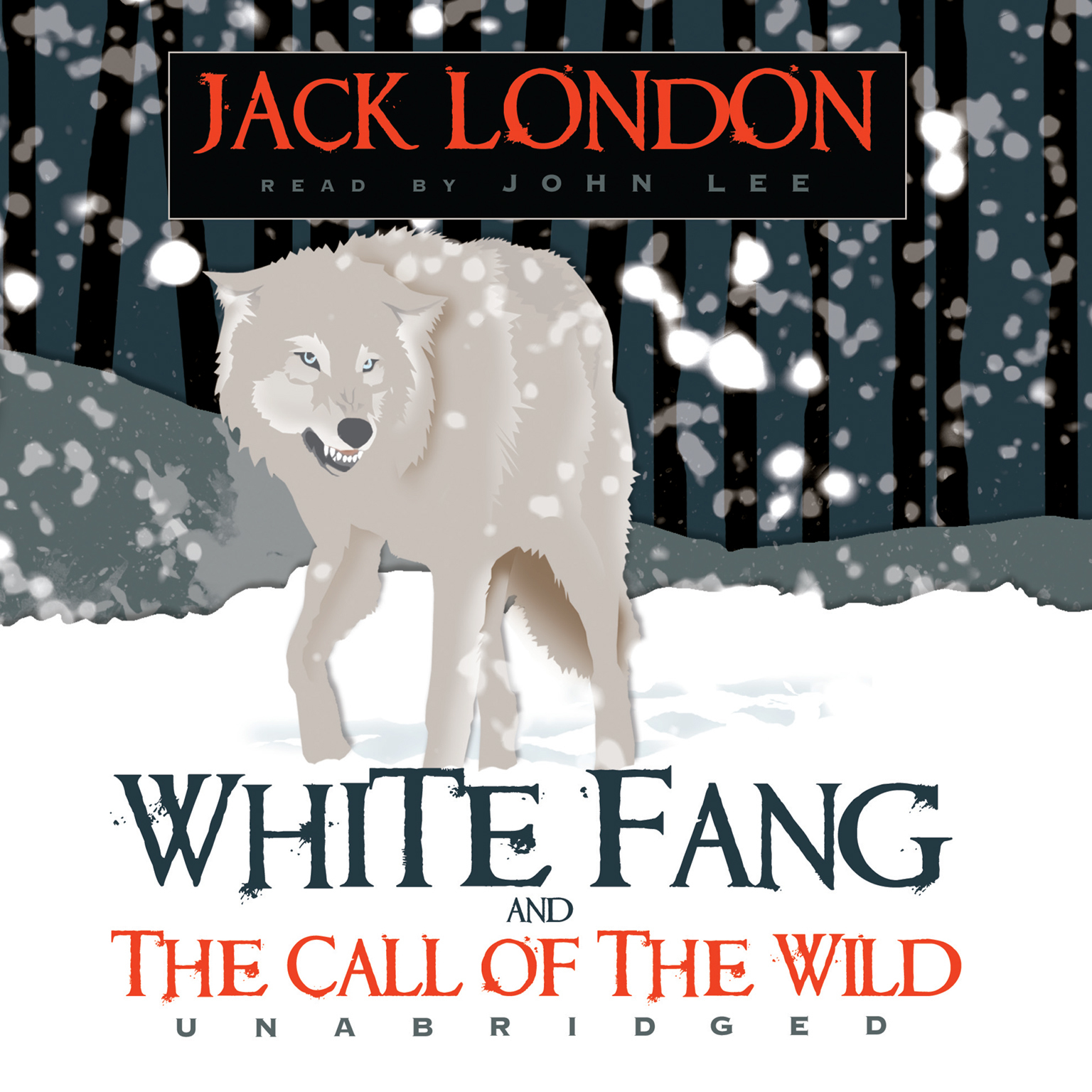 Jack London Boxed Set: White Fang and The Call of the Wild Audiobook, by Jack London