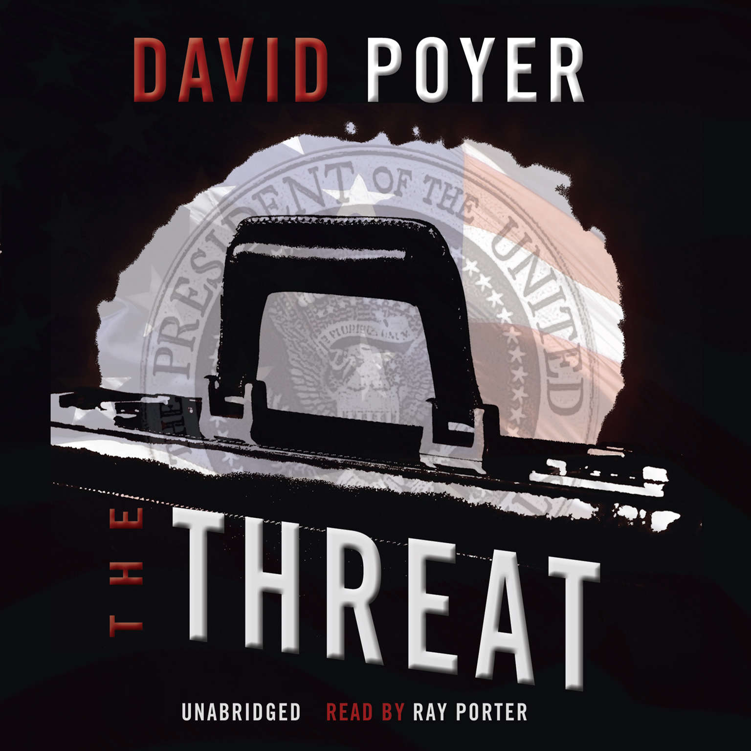 Printable The Threat Audiobook Cover Art