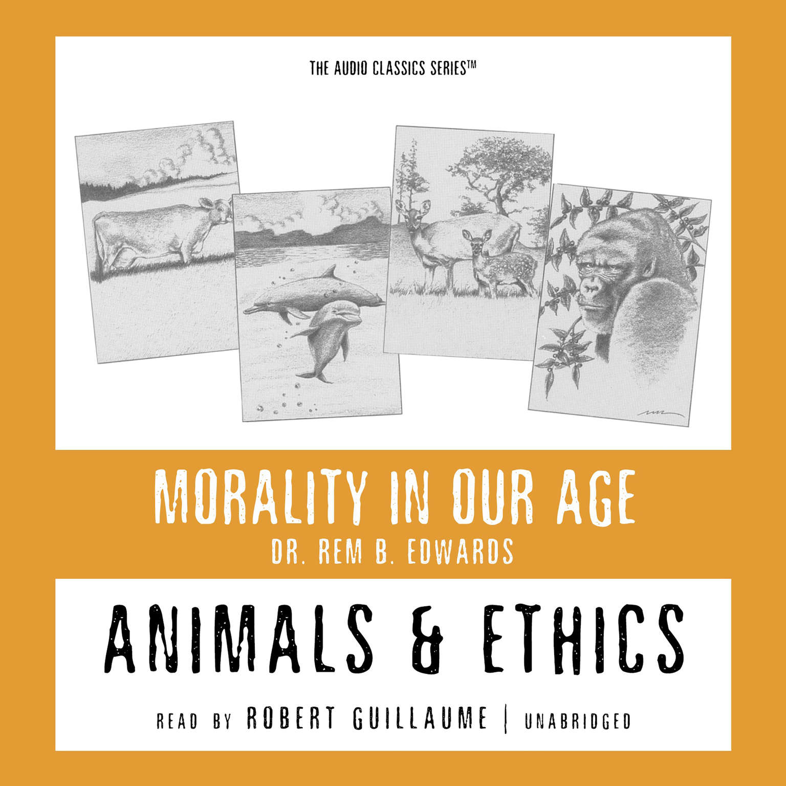 Printable Animals and Ethics Audiobook Cover Art