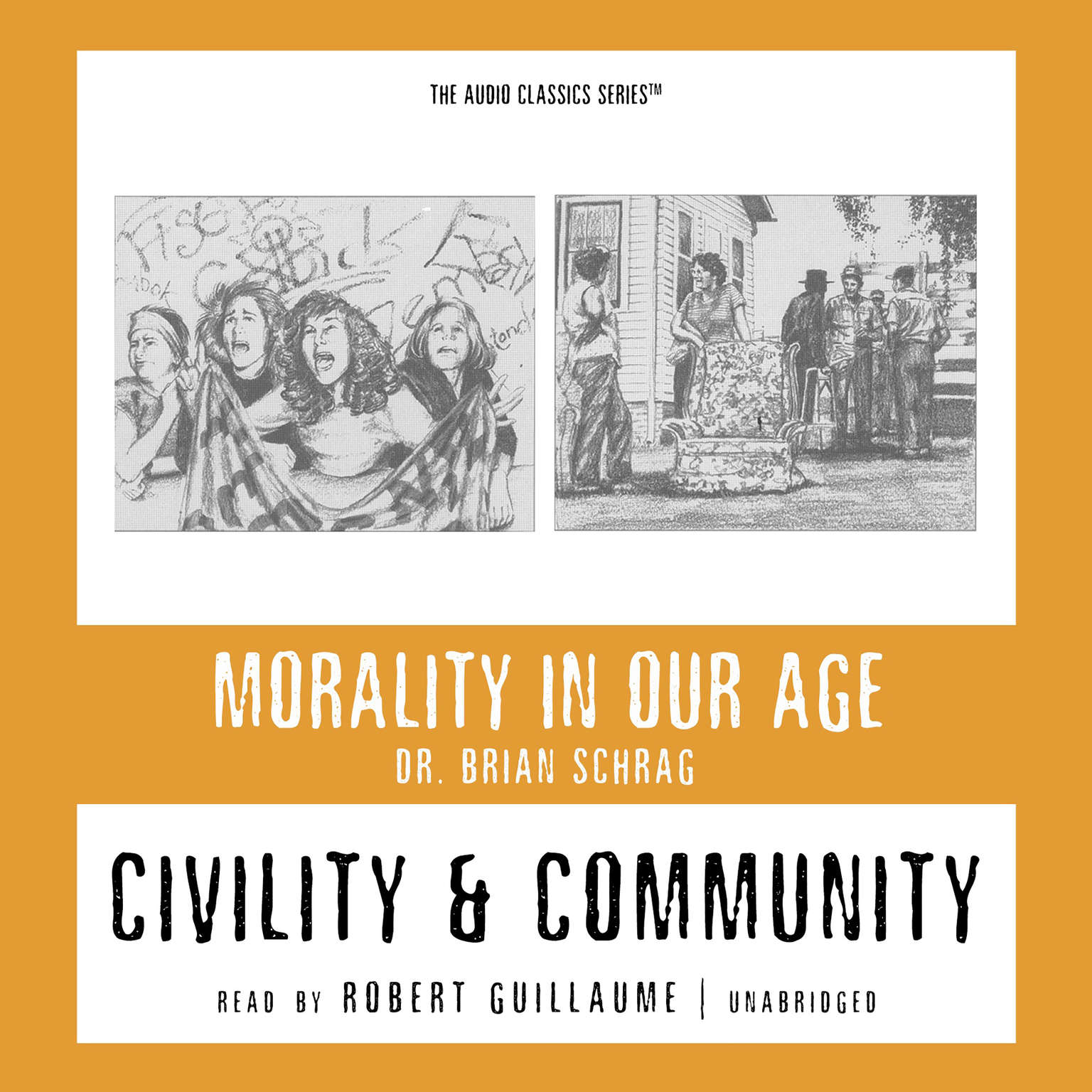 Printable Civility and Community Audiobook Cover Art