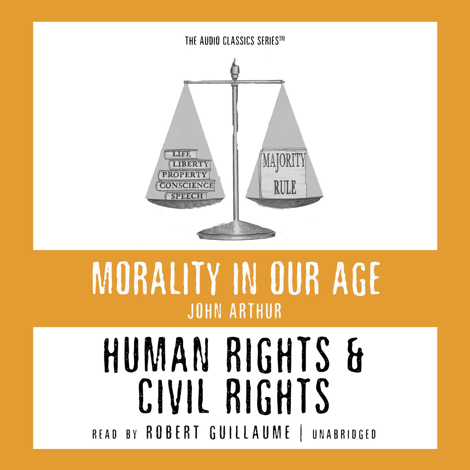 Printable Human Rights and Civil Rights Audiobook Cover Art