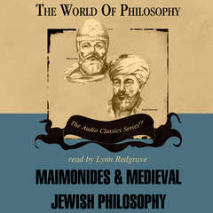 Maimonides and Medieval Jewish Philosophy Audiobook, by Idit Dobbs-Weinstein