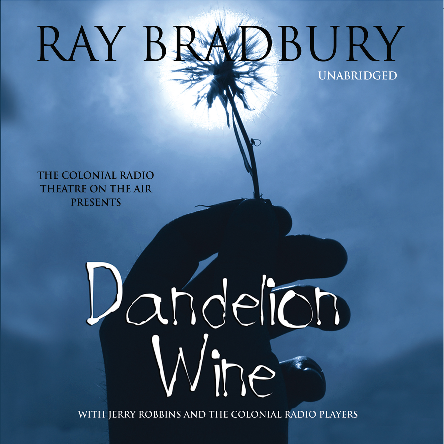 Printable Dandelion Wine Audiobook Cover Art