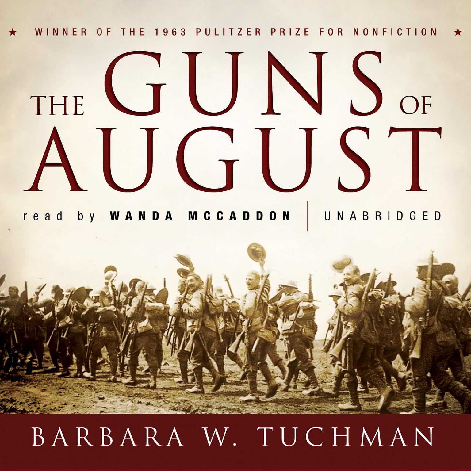 Printable The Guns of August Audiobook Cover Art