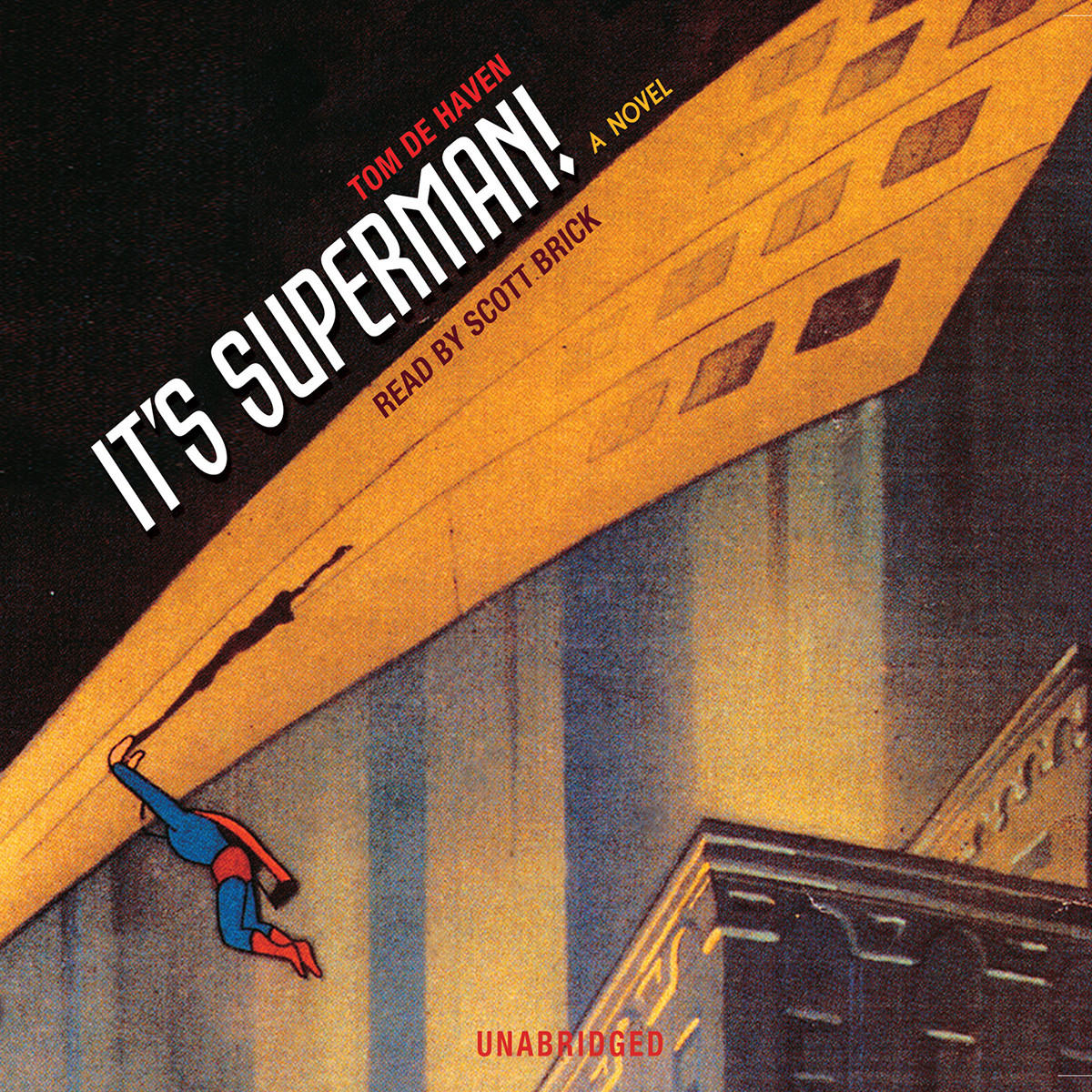 Printable It's Superman! Audiobook Cover Art
