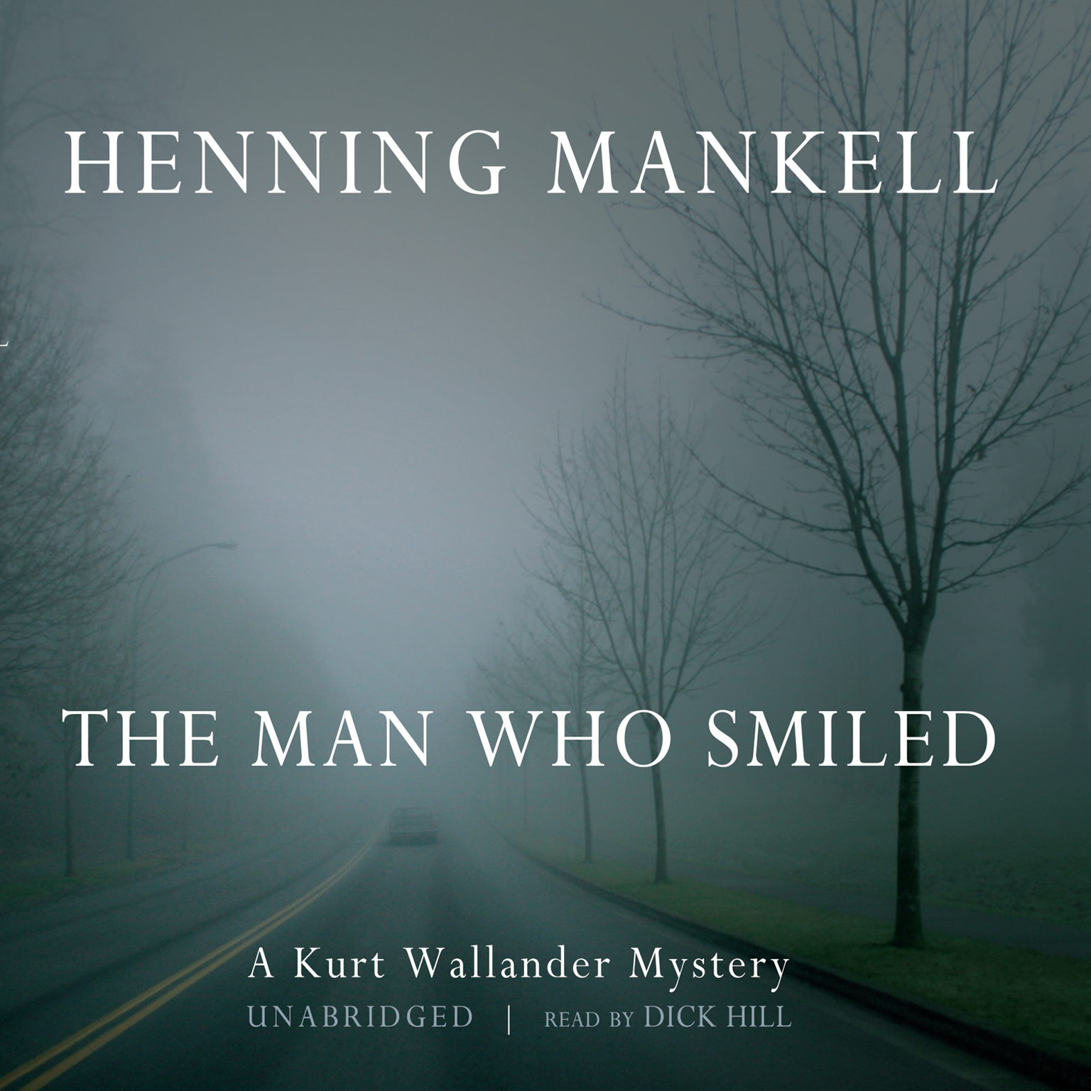 Printable The Man Who Smiled Audiobook Cover Art