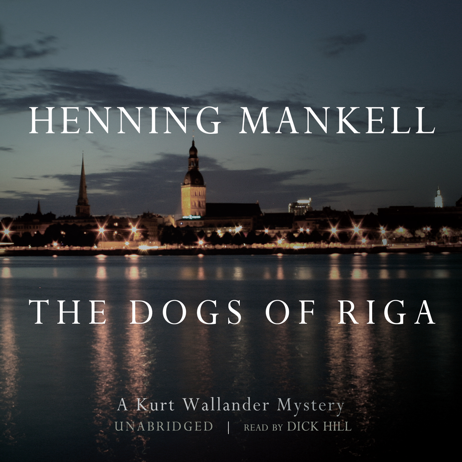 Printable The Dogs of Riga Audiobook Cover Art