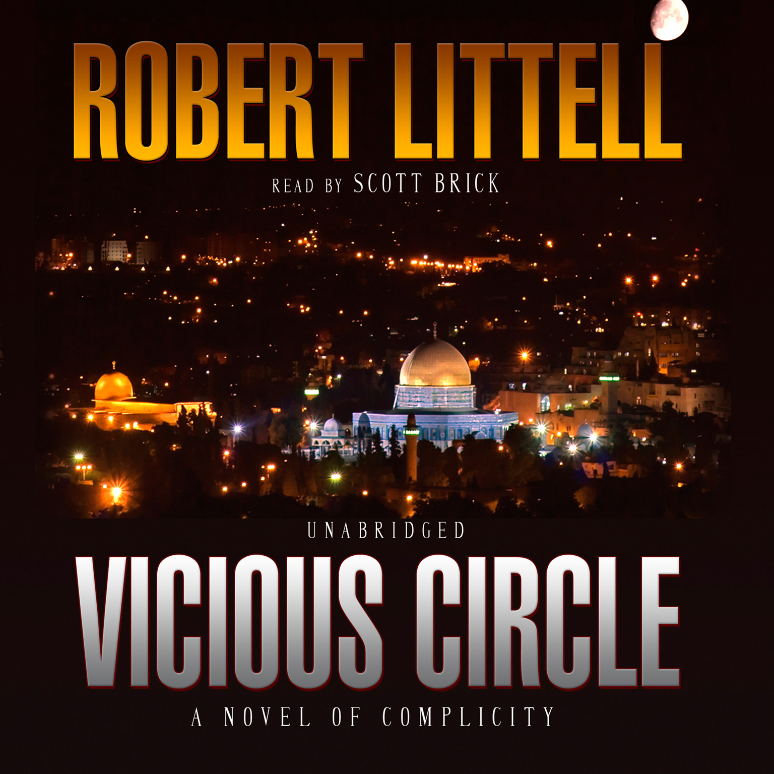 Printable Vicious Circle: A Novel of Complicity Audiobook Cover Art