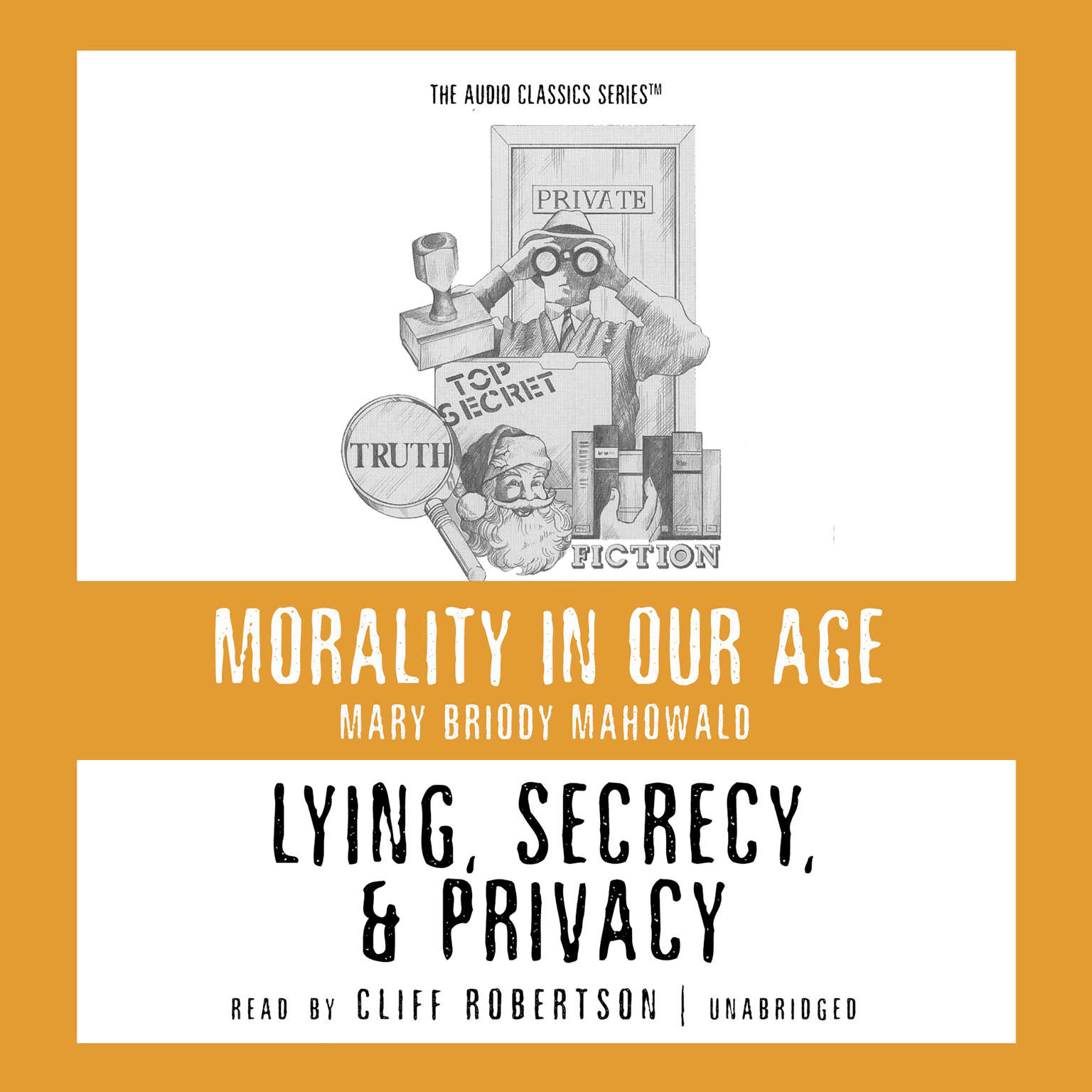Printable Lying, Secrecy, and Privacy Audiobook Cover Art