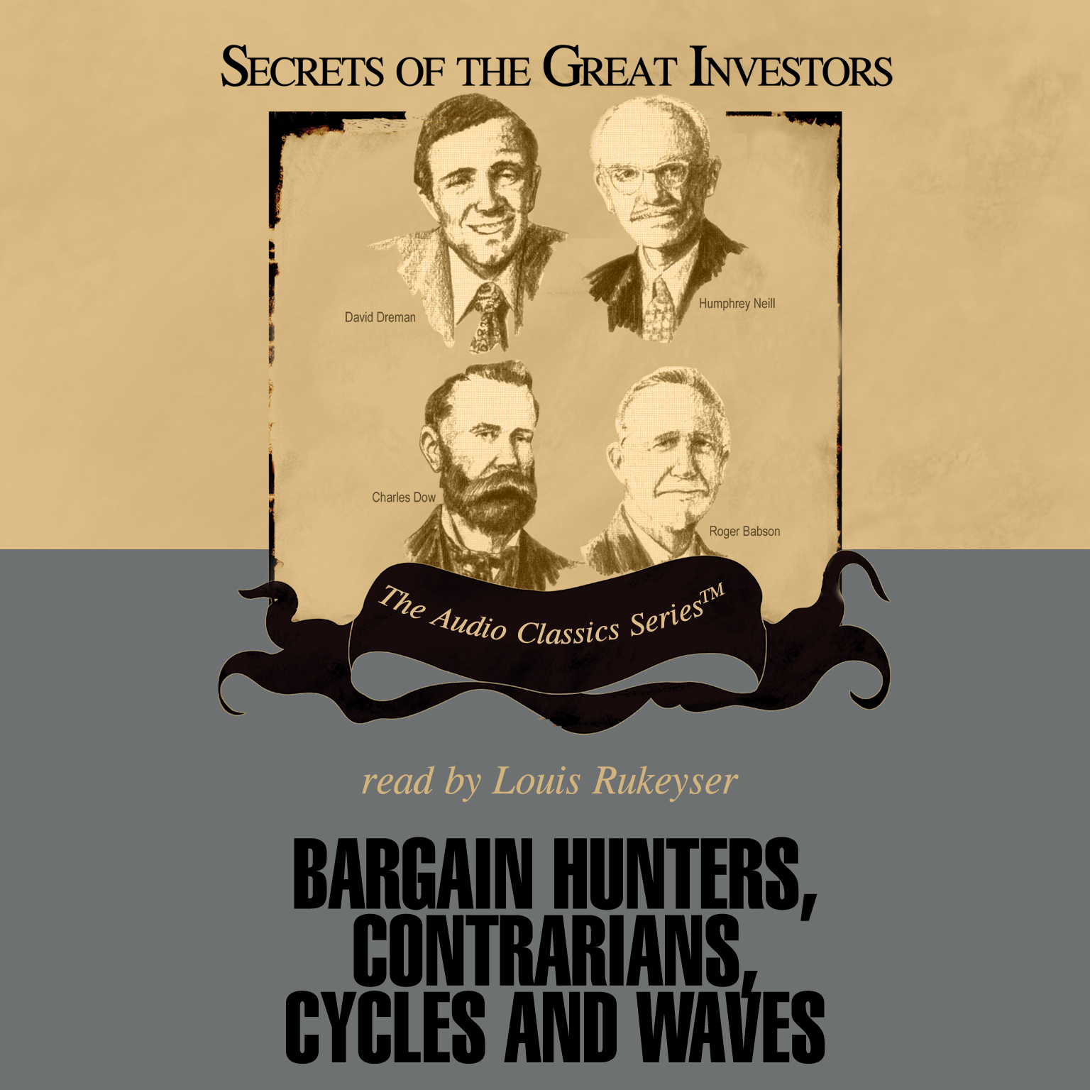 Printable Bargain Hunters, Contrarians, Cycles and Waves Audiobook Cover Art