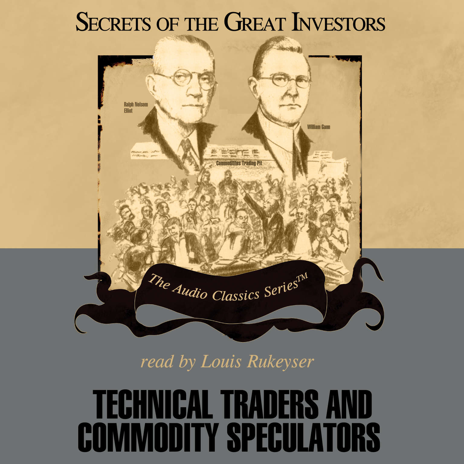 Printable Technical Traders and Commodity Speculators Audiobook Cover Art