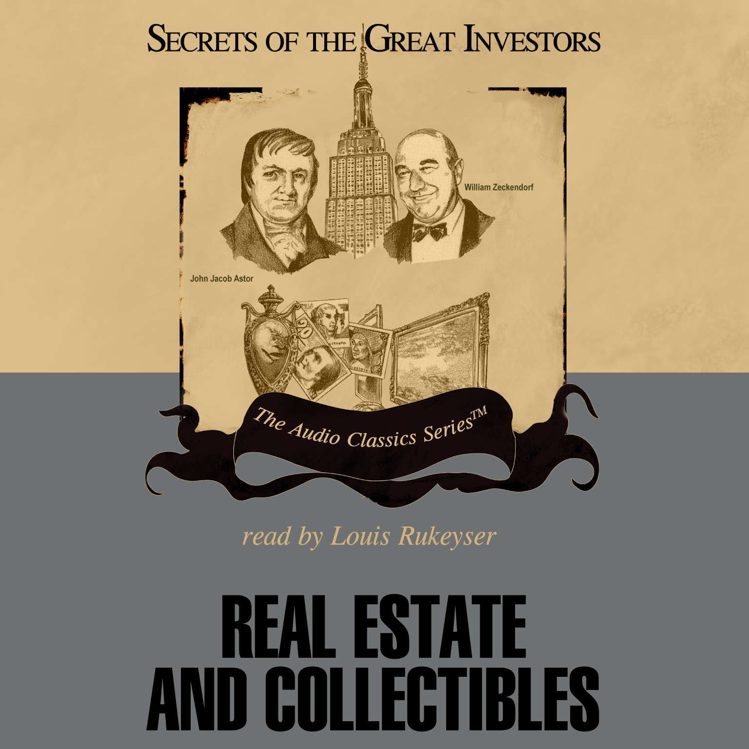Printable Real Estate and Collectibles Audiobook Cover Art