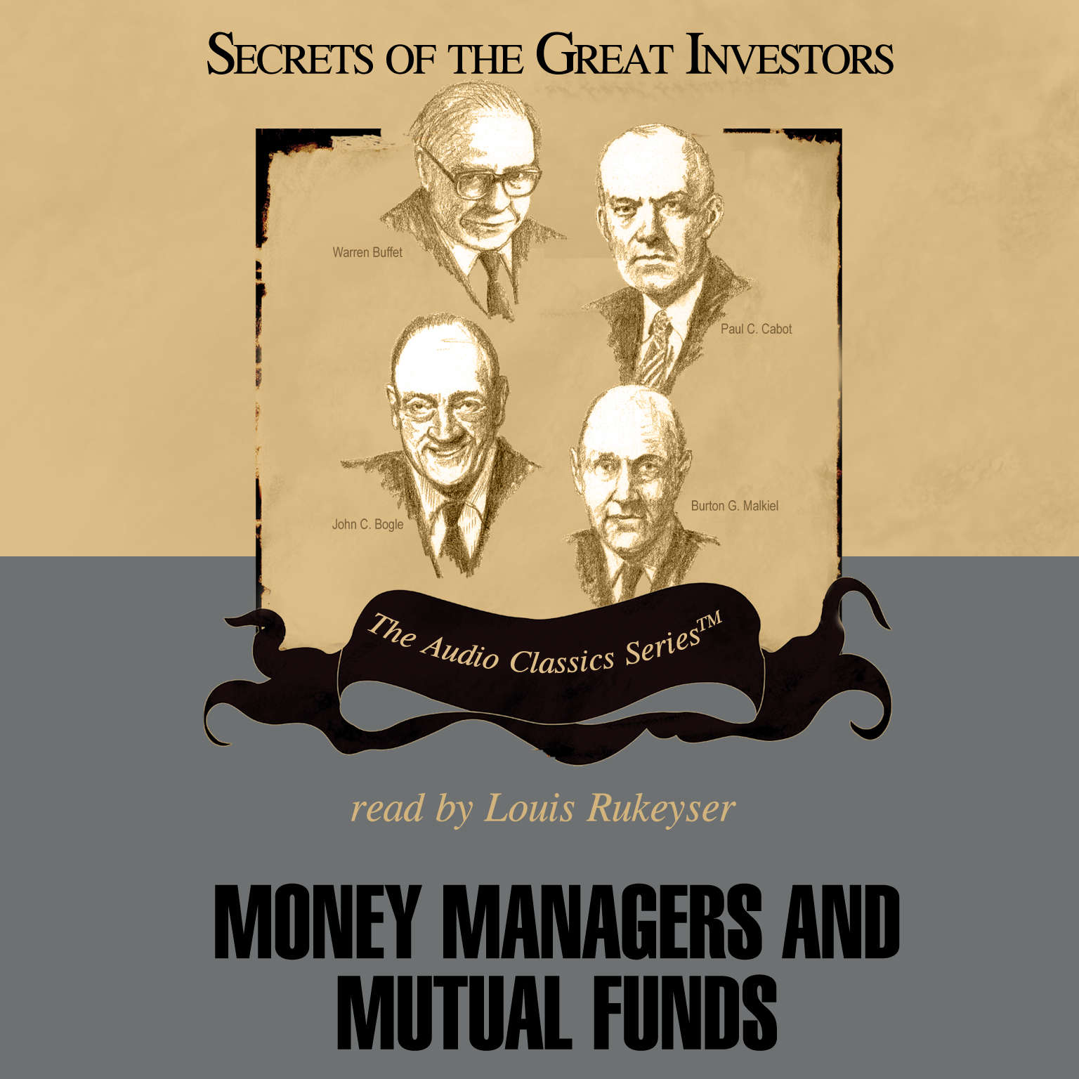 Printable Money Managers and Mutual Funds Audiobook Cover Art