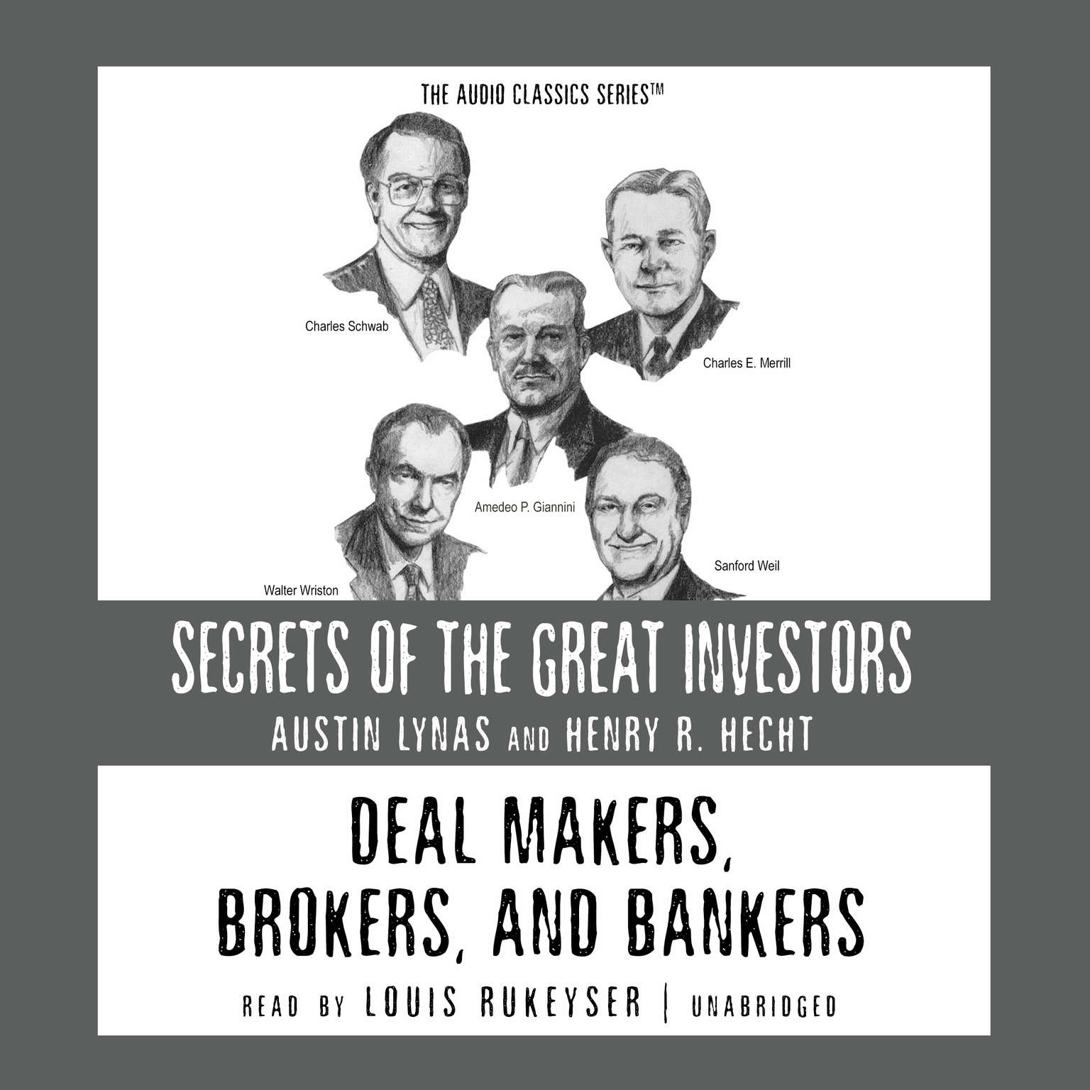 Printable Deal Makers, Brokers, and Bankers Audiobook Cover Art