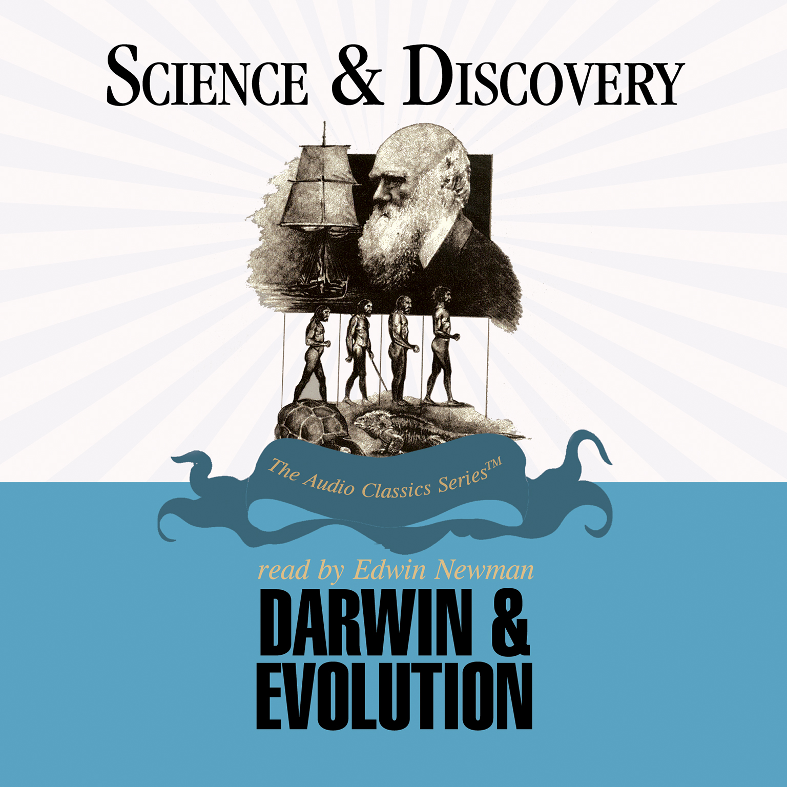 Printable Darwin and Evolution Audiobook Cover Art