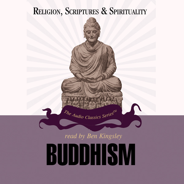 Printable Buddhism Audiobook Cover Art
