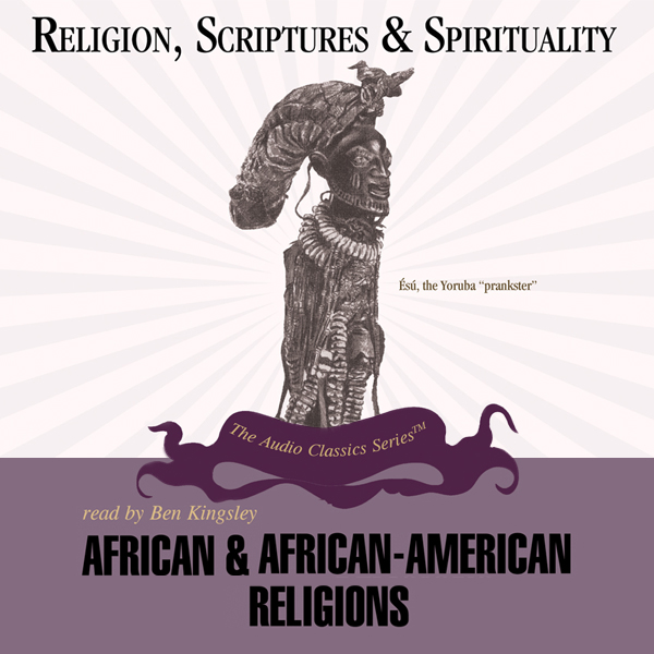 Printable African and African-American Religions Audiobook Cover Art