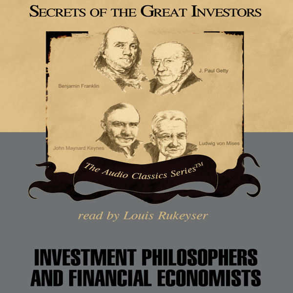 Printable Investment Philosophers and Financial Economists Audiobook Cover Art