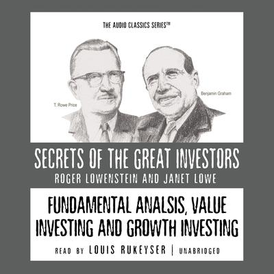 Fundamental Analysis, Value Investing and Growth Investing Audiobook, by
