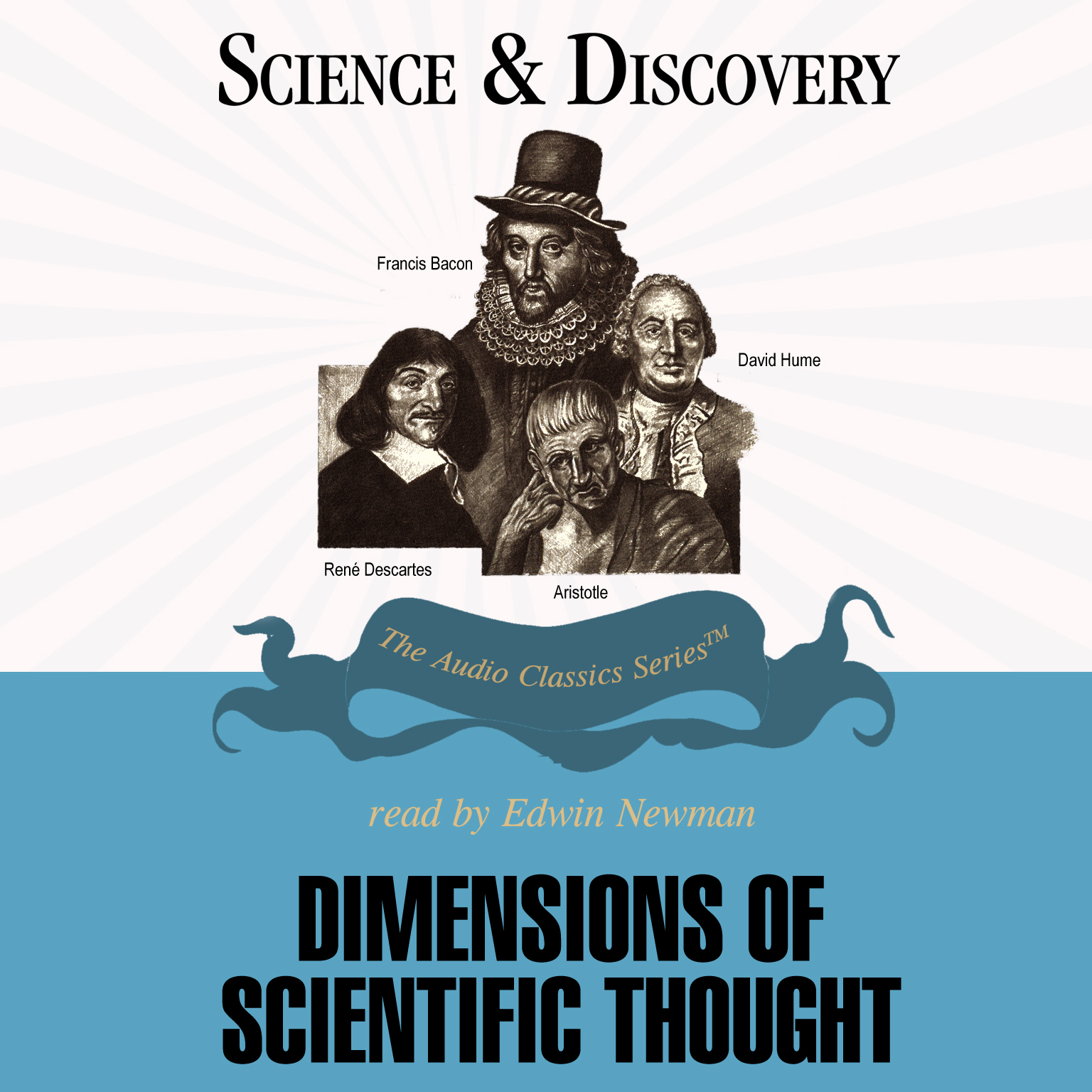 Printable Dimensions of Scientific Thought Audiobook Cover Art