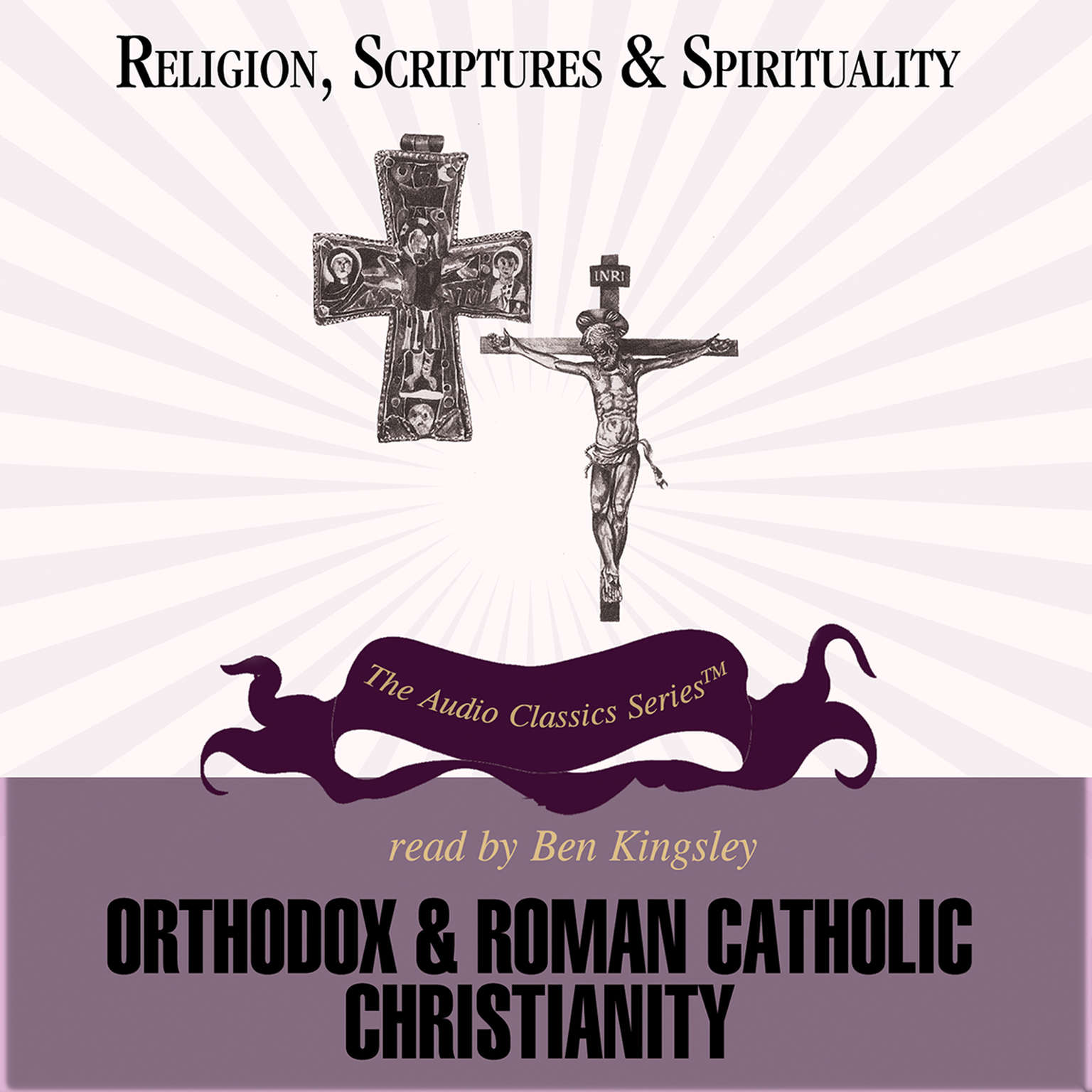 Printable Orthodox and Roman Catholic Christianity Audiobook Cover Art