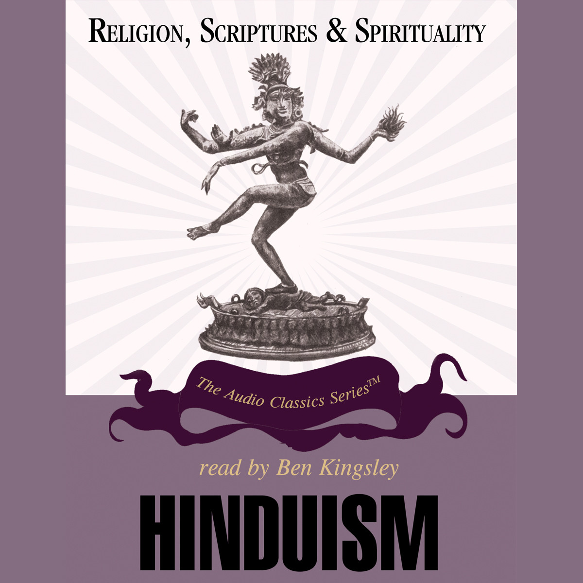 Printable Hinduism Audiobook Cover Art