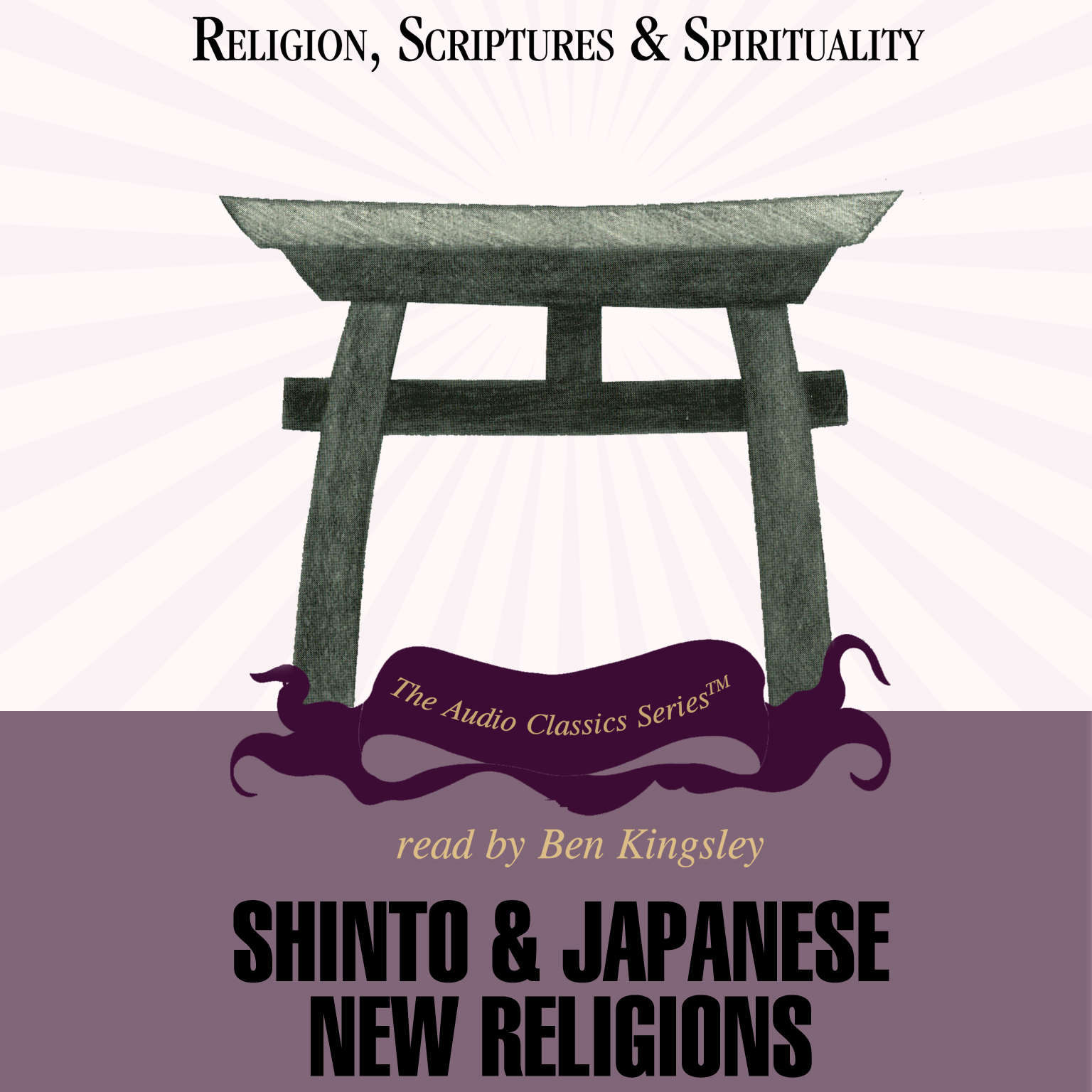 Printable Shinto and Japanese New Religions Audiobook Cover Art